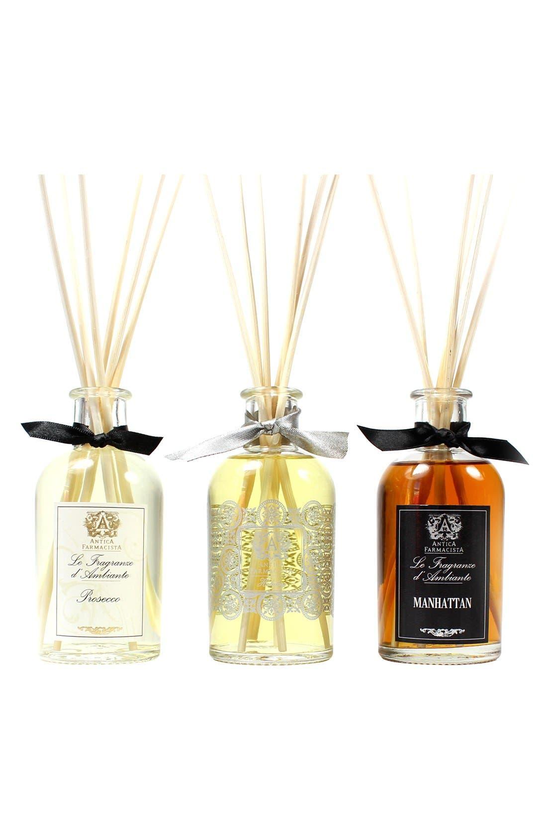 ANTICA FARMACISTA, Home Ambiance Perfume Trio, Main thumbnail 1, color, 000