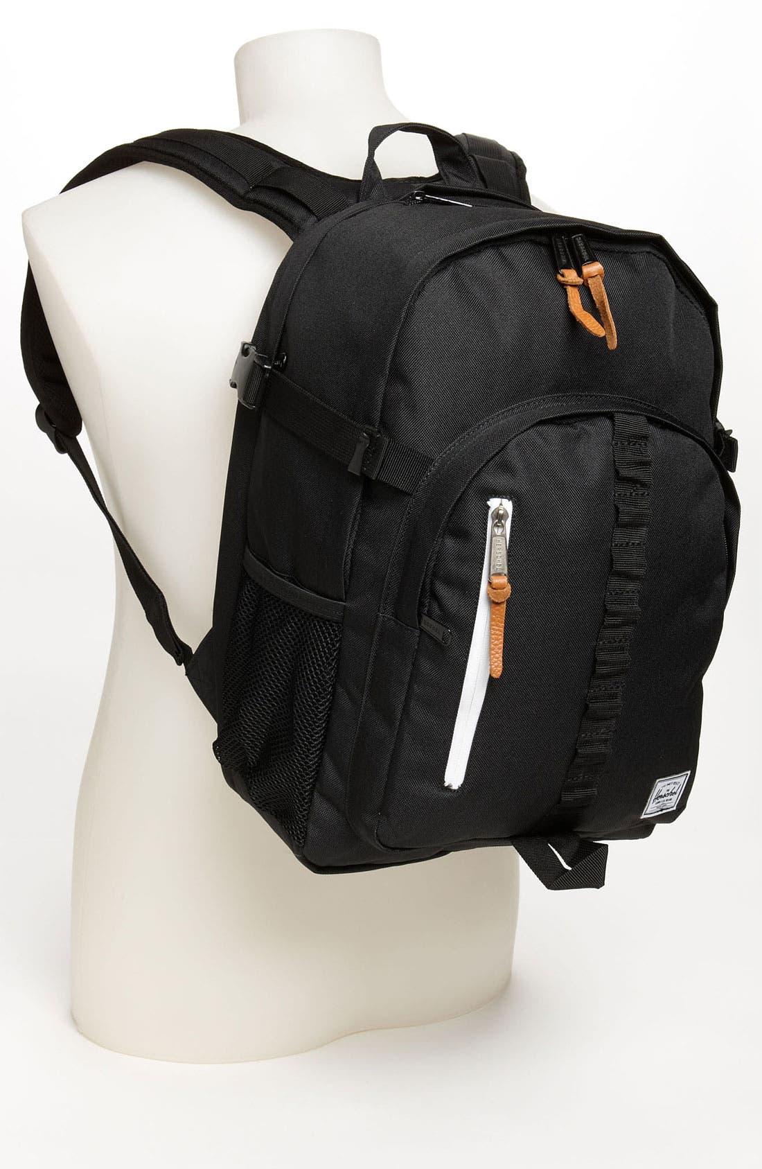 HERSCHEL SUPPLY CO., 'Parkgate' Backpack, Alternate thumbnail 4, color, 001
