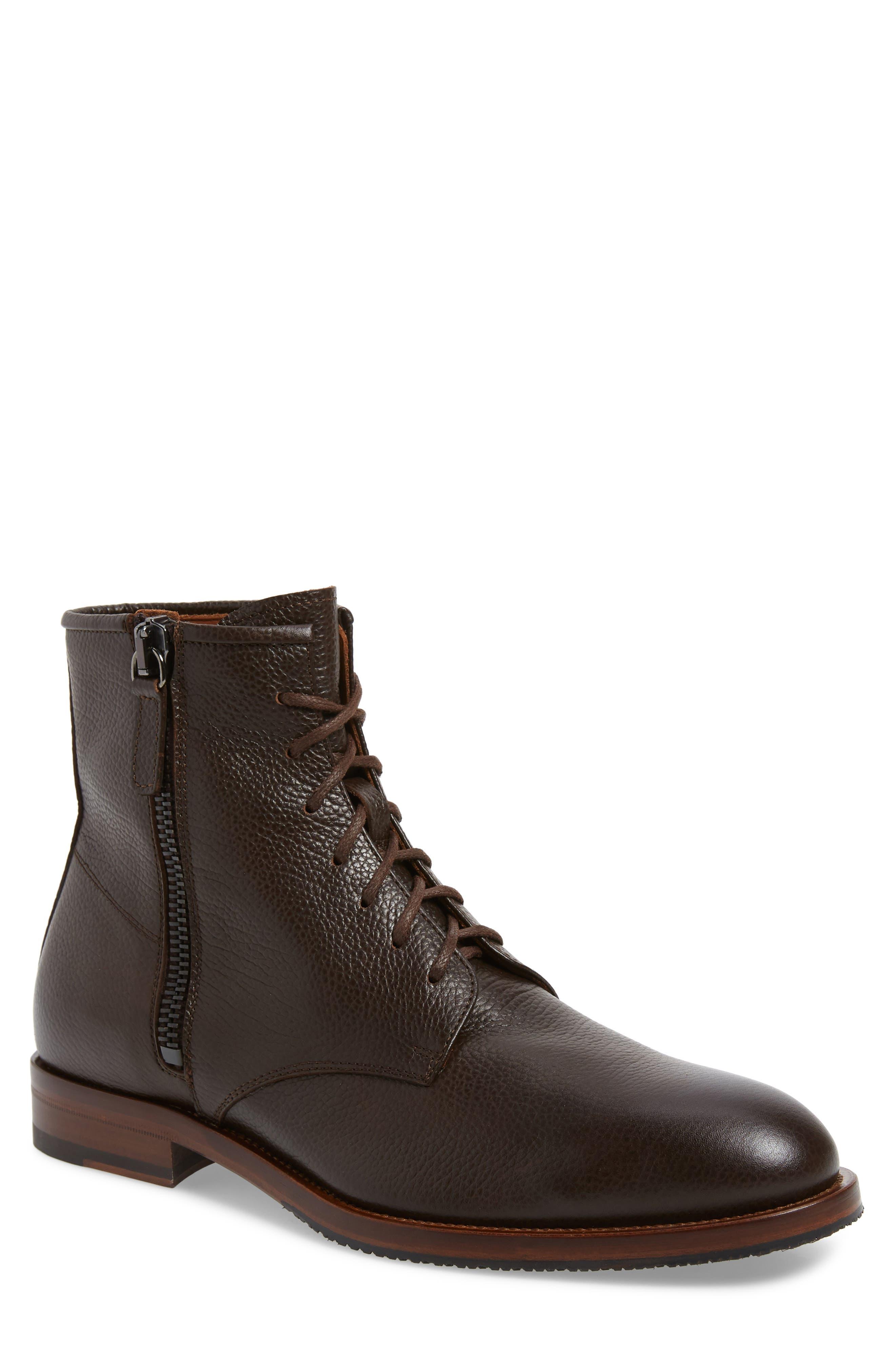 Aquatalia Vladimir Weatherproof Boot, Brown