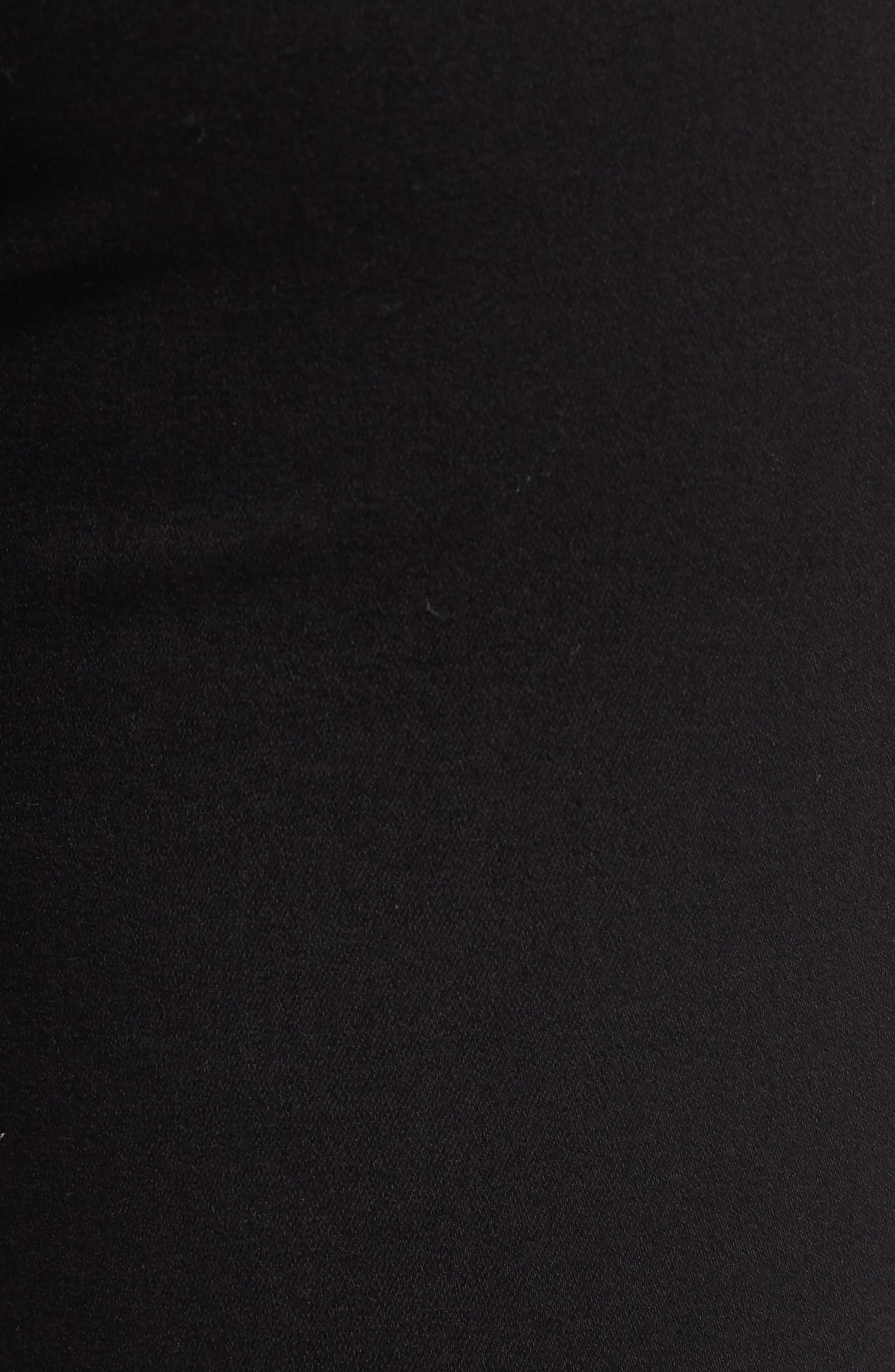 TOPSHOP, MOTO Joni Ripped Skinny Jeans, Alternate thumbnail 6, color, 001