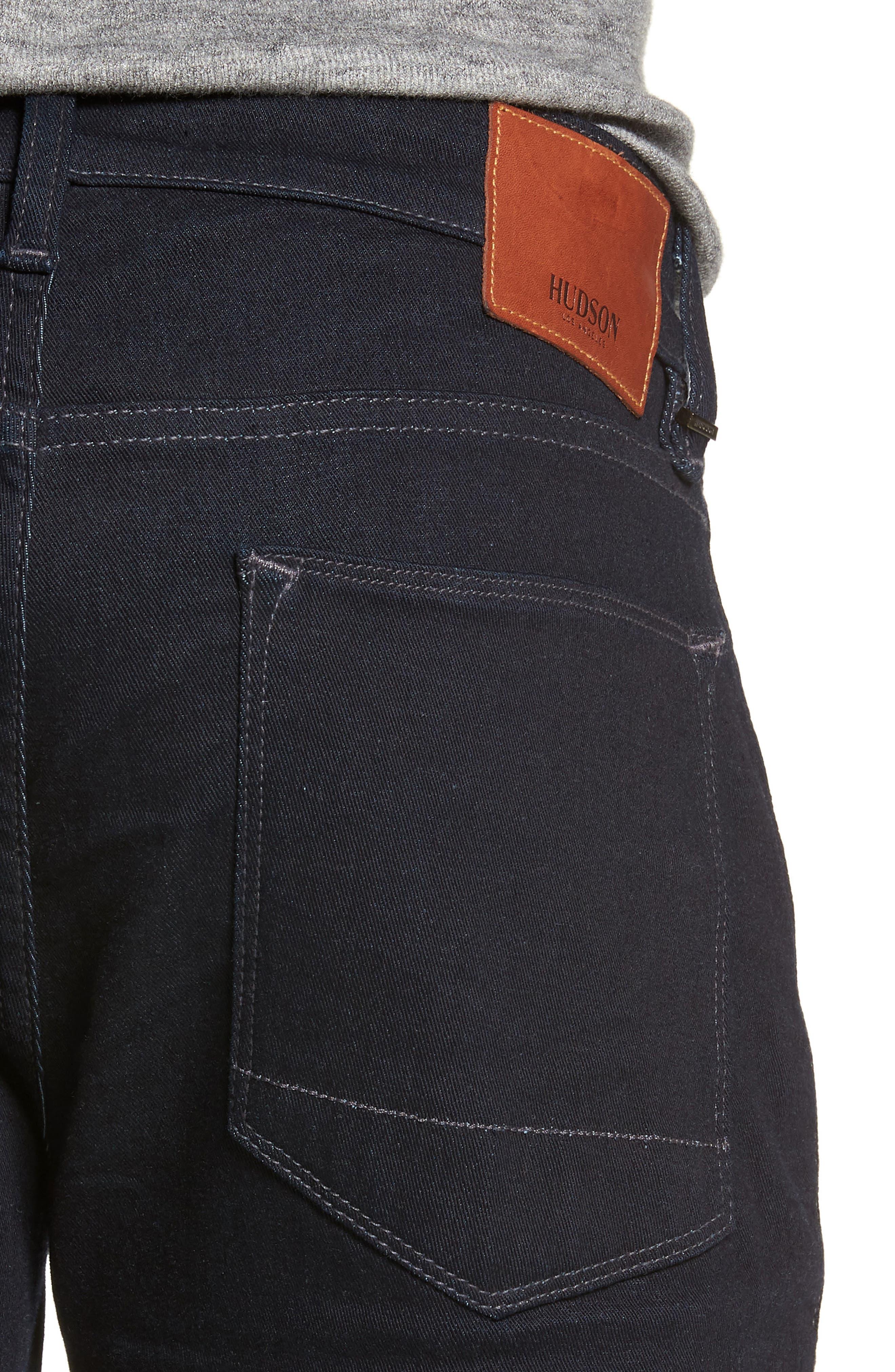 HUDSON JEANS, Byron Slim Straight Leg Jeans, Alternate thumbnail 4, color, TUDOR