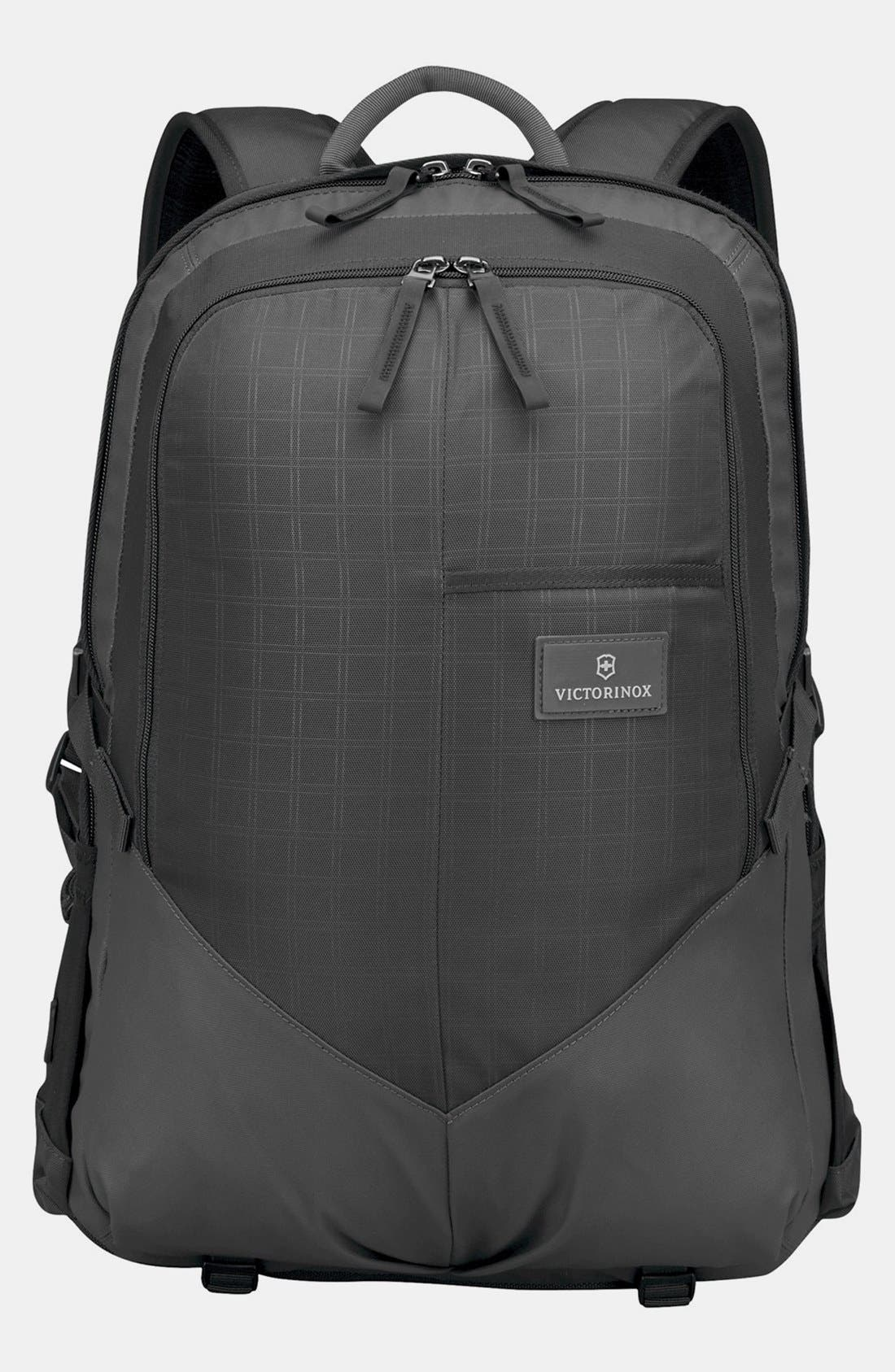 VICTORINOX SWISS ARMY<SUP>®</SUP> Altmont Backpack, Main, color, BLACK