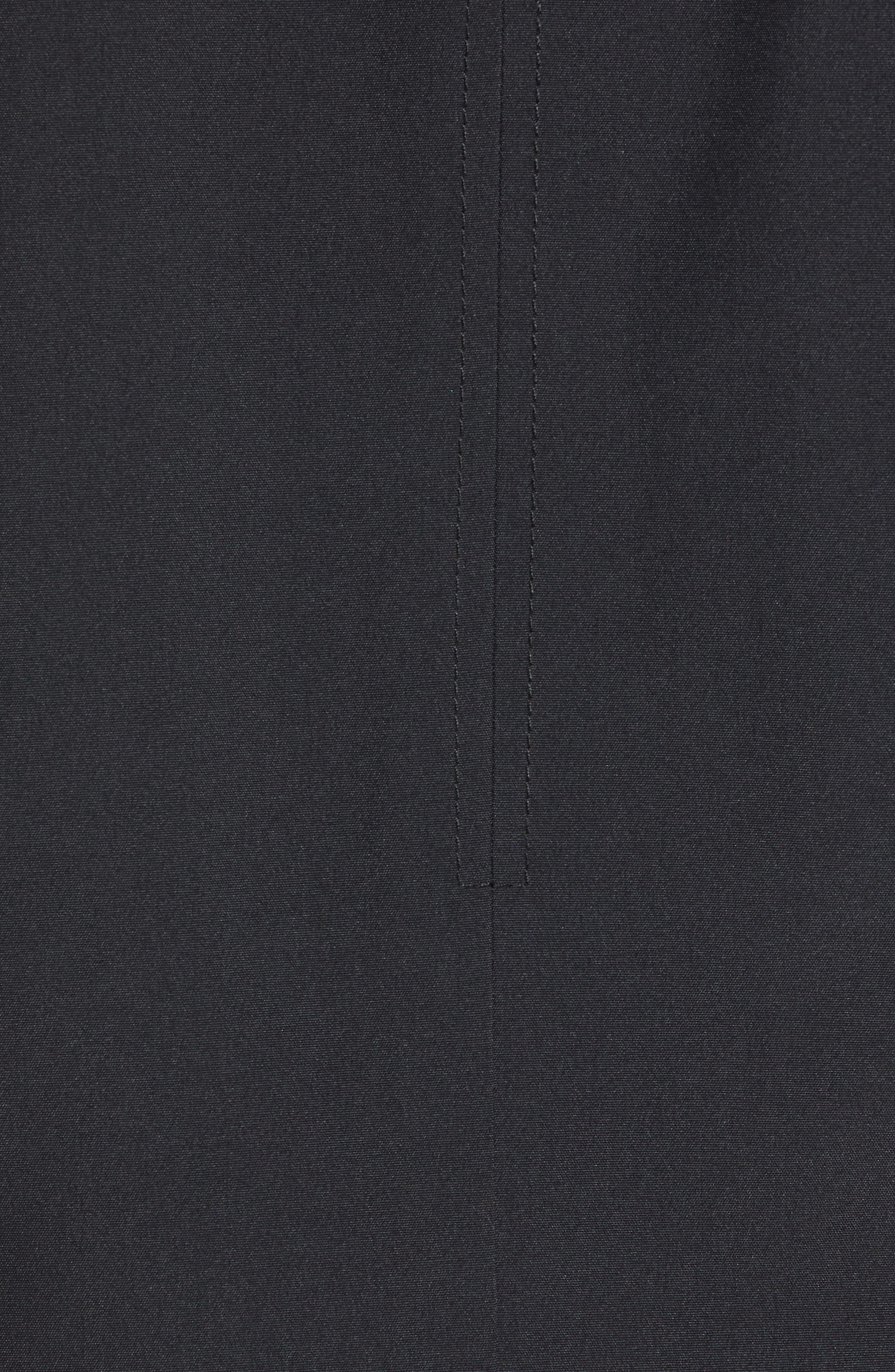 MARC NEW YORK, Cullen Oxford Car Coat, Alternate thumbnail 6, color, BLACK