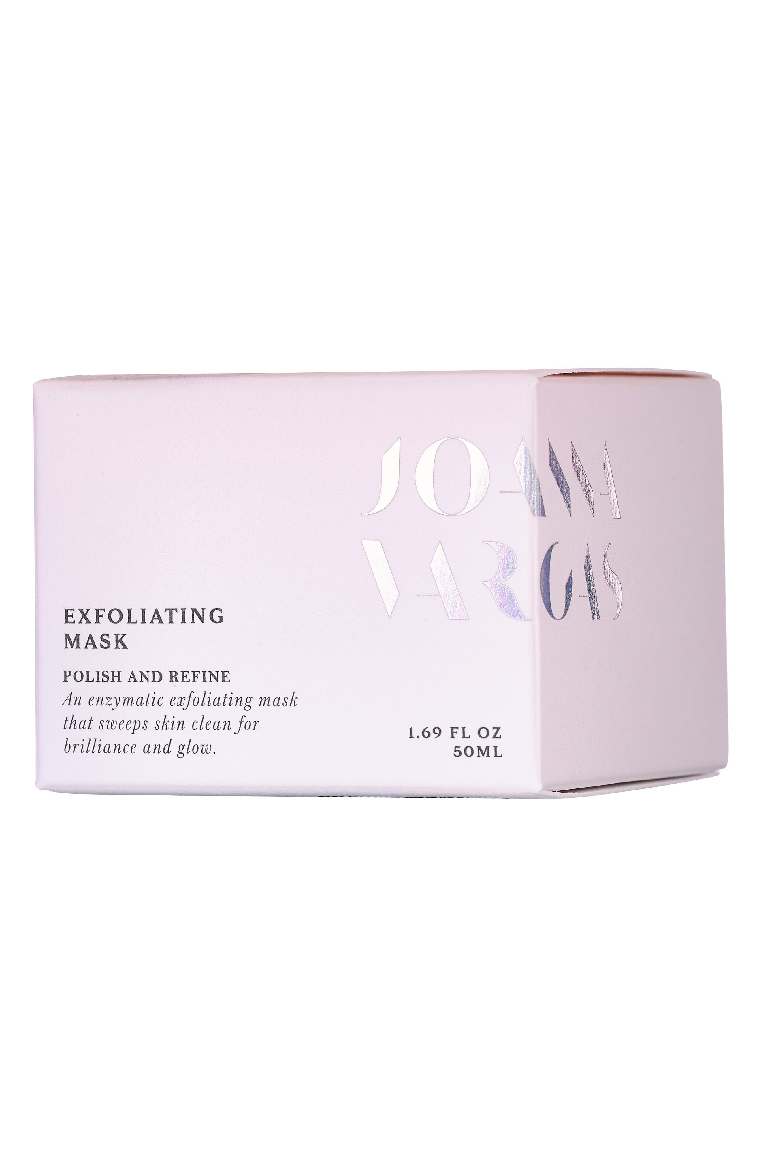 JOANNA VARGAS, Exfoliating Mask, Alternate thumbnail 2, color, NO COLOR