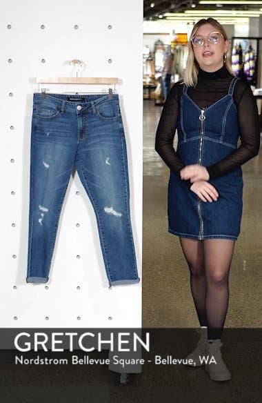Distressed Ankle Boyfriend Jeans, sales video thumbnail