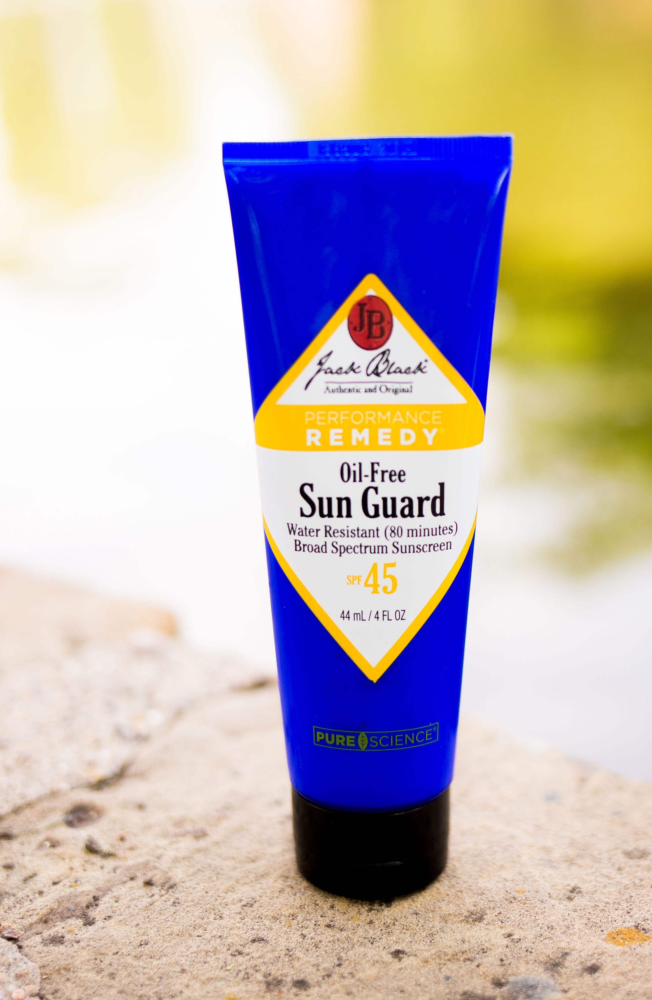JACK BLACK, Sun Guard Very Water Resistant Sunscreen SPF 45, Alternate thumbnail 4, color, NO COLOR