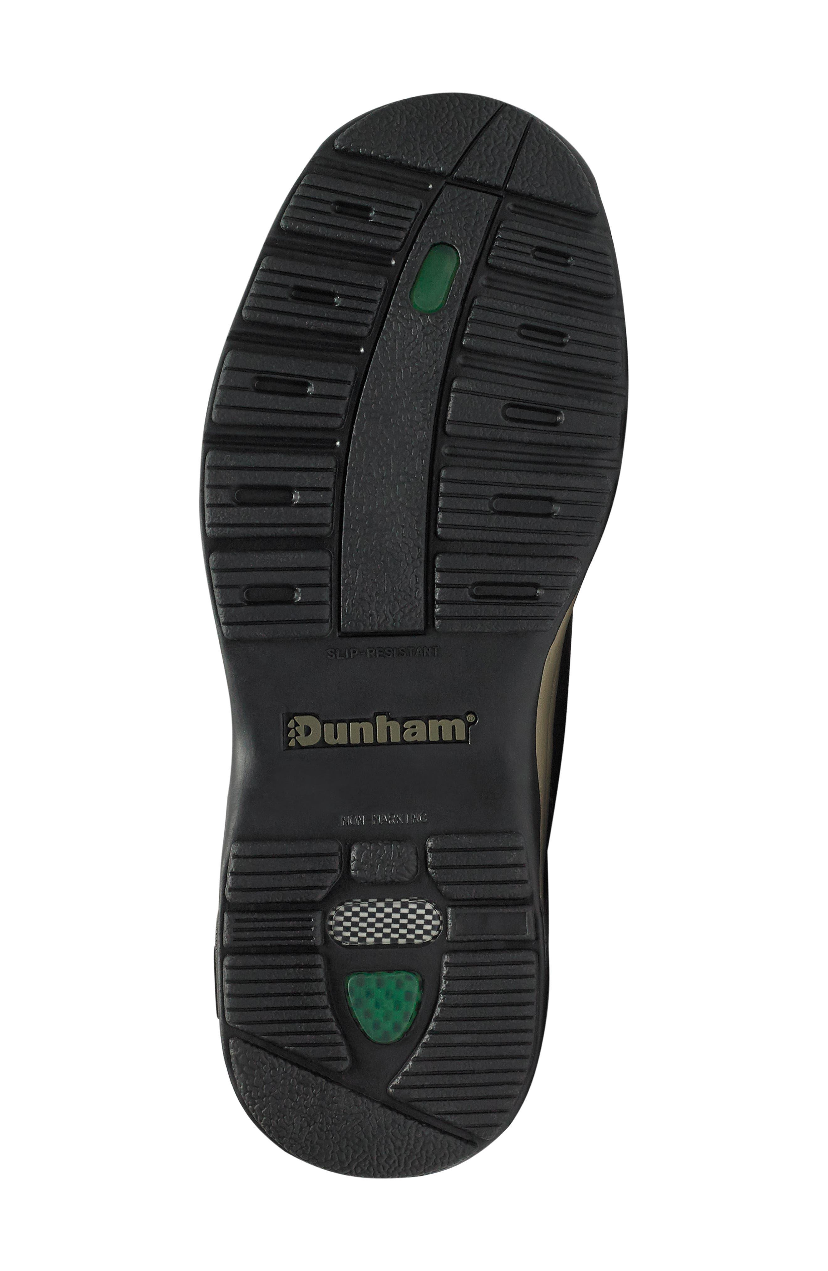 DUNHAM, 'Midland' Sneaker, Alternate thumbnail 6, color, BROWN LEATHER