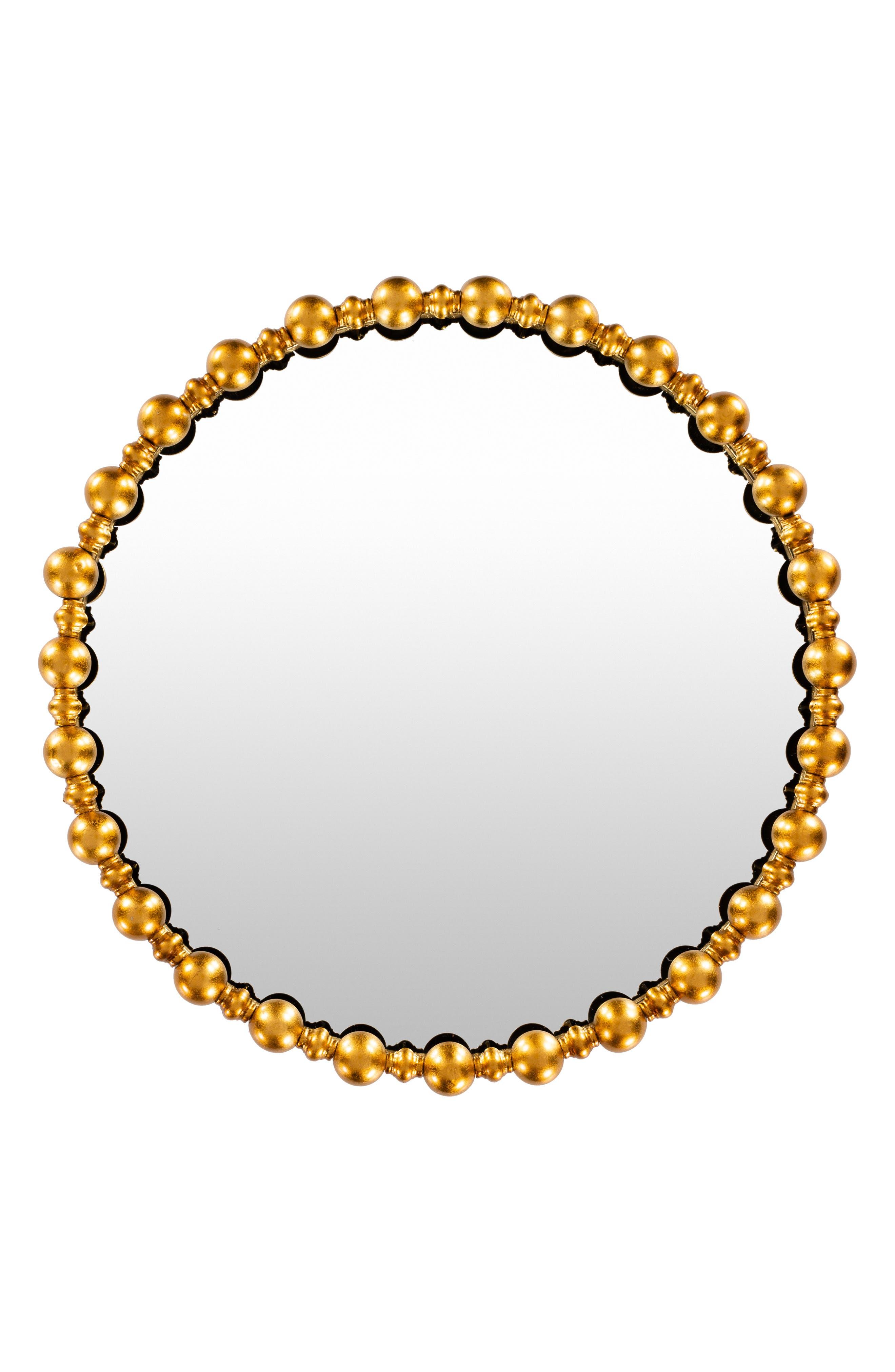 SURYA HOME, Elin Mirror, Main thumbnail 1, color, GOLD
