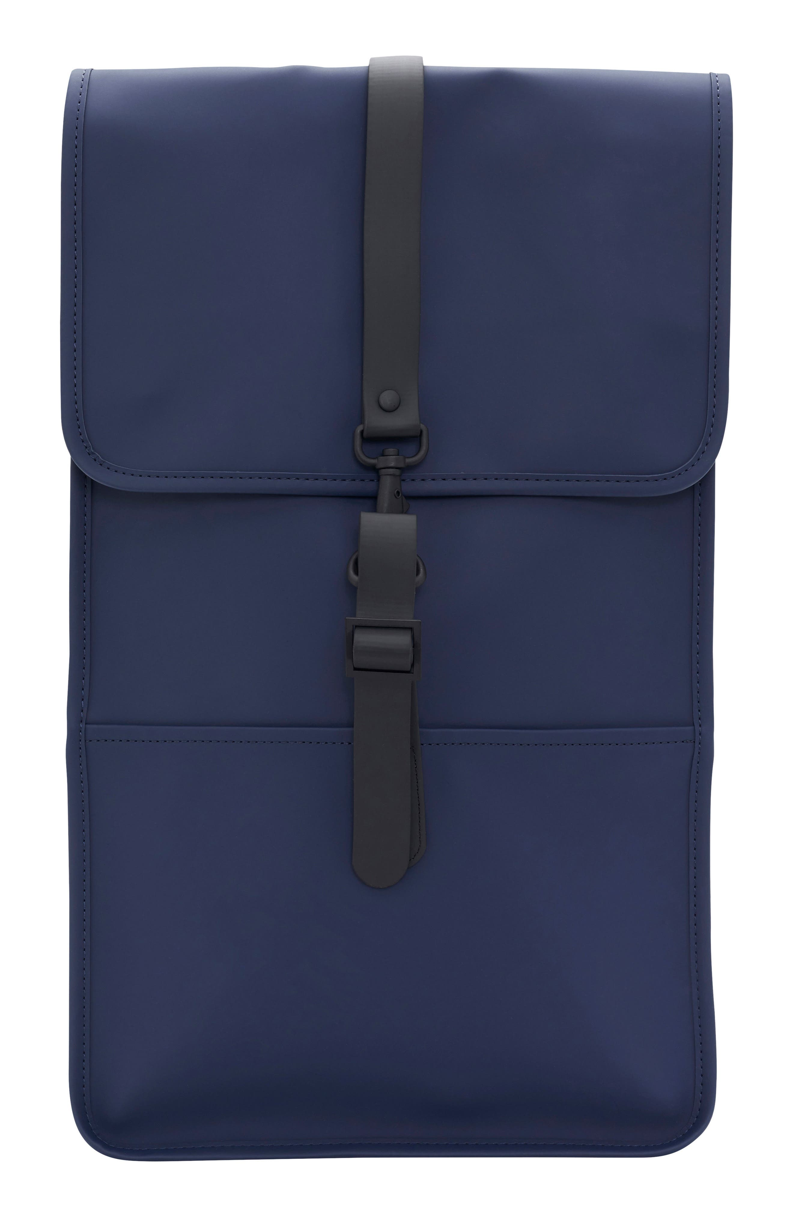 RAINS, Waterproof Backpack, Main thumbnail 1, color, BLUE