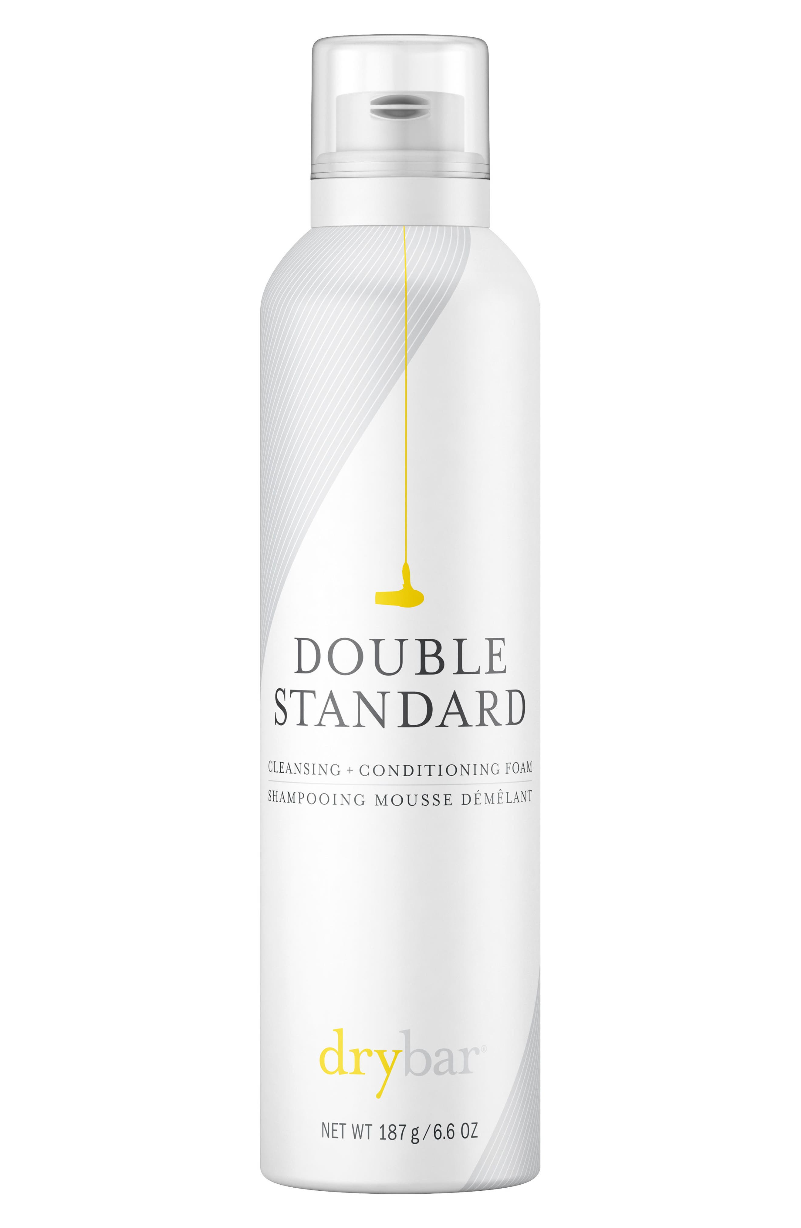 DRYBAR, Double Standard Cleansing & Conditioning Foam, Main thumbnail 1, color, 000