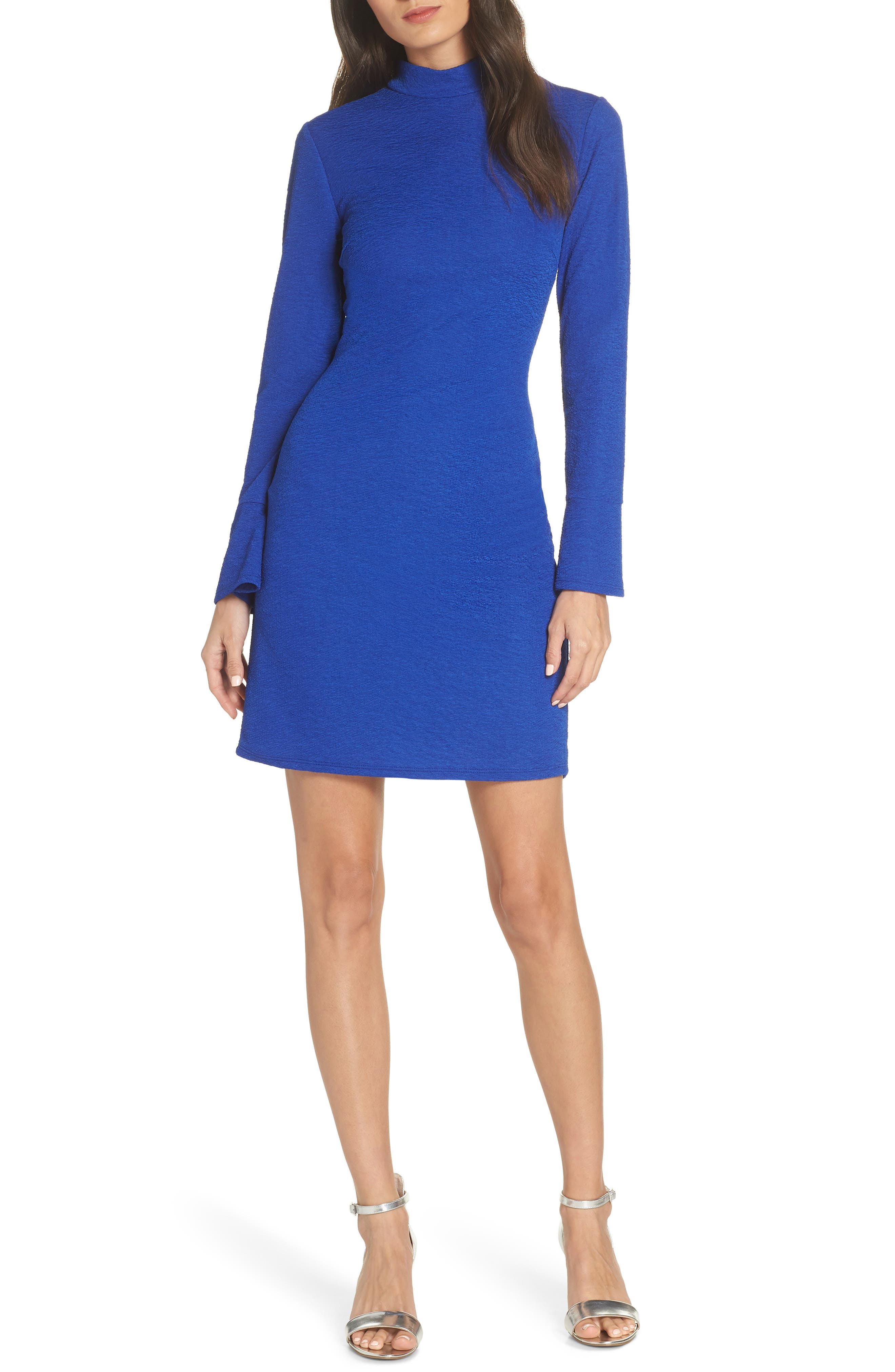 Fraiche By J Body-Con Dress, Blue