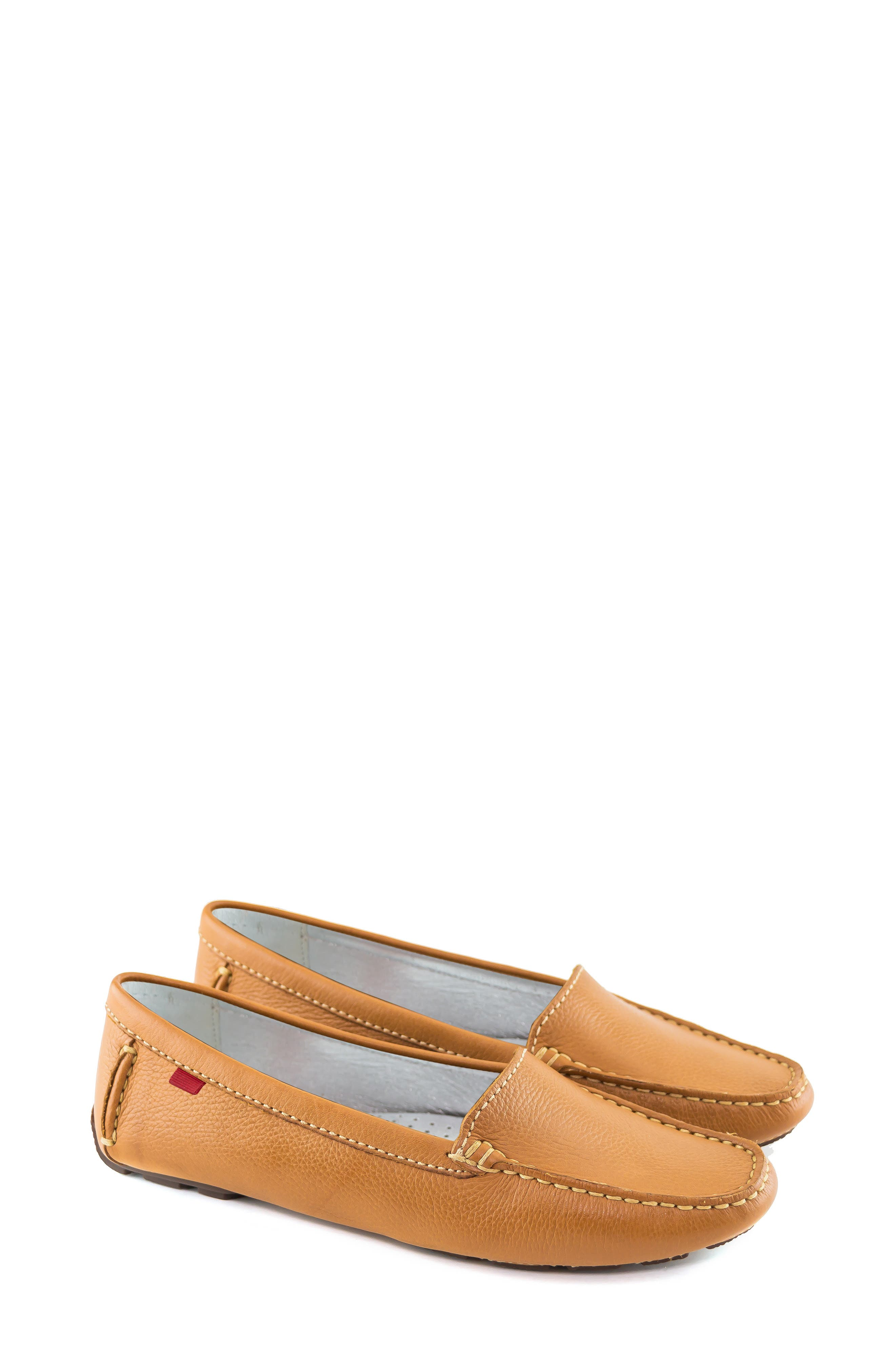 MARC JOSEPH NEW YORK, Manhasset Loafer, Alternate thumbnail 6, color, TAN/ NATURAL LEATHER