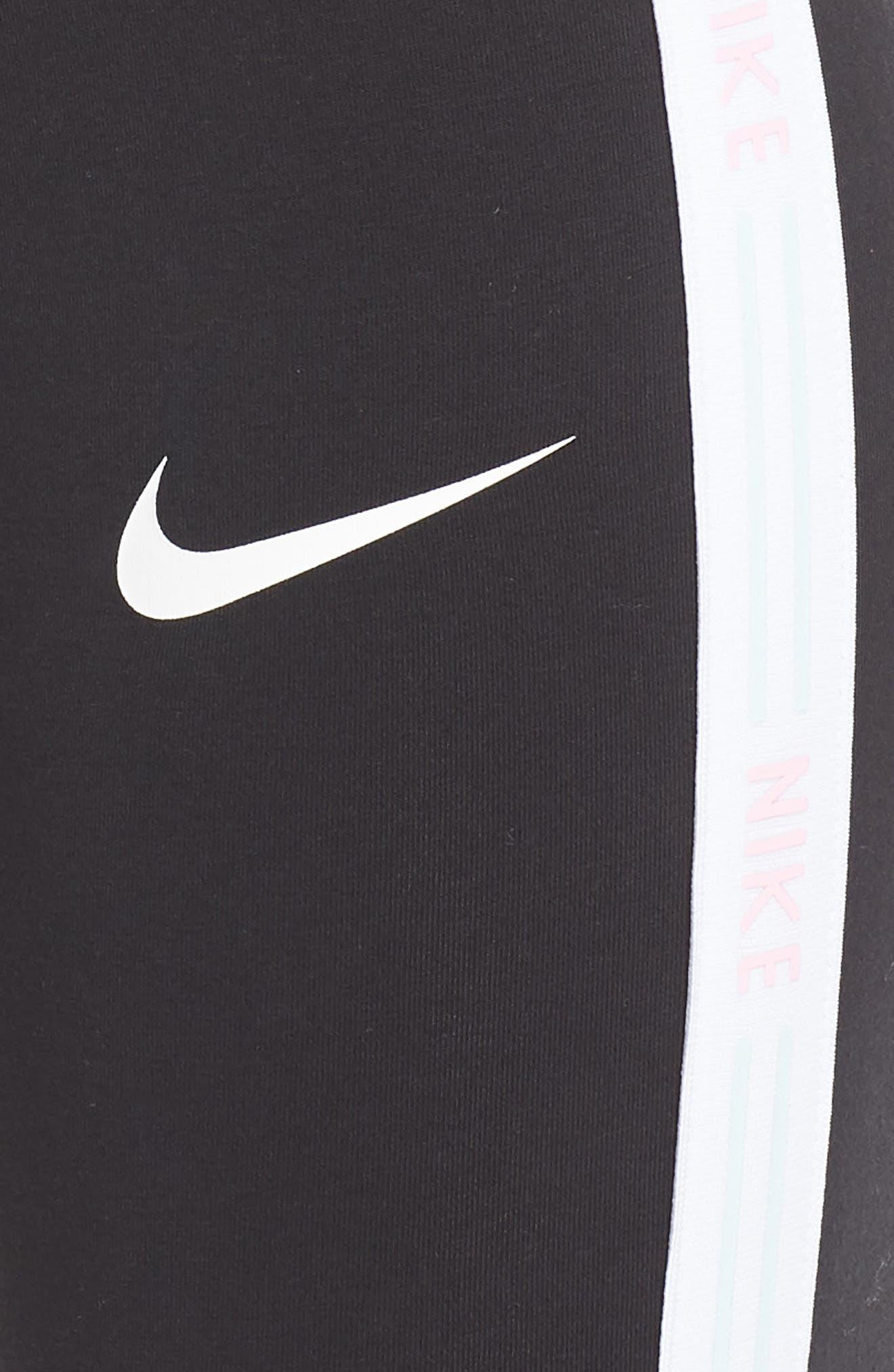 NIKE, Sportswear Leggings, Alternate thumbnail 6, color, 010