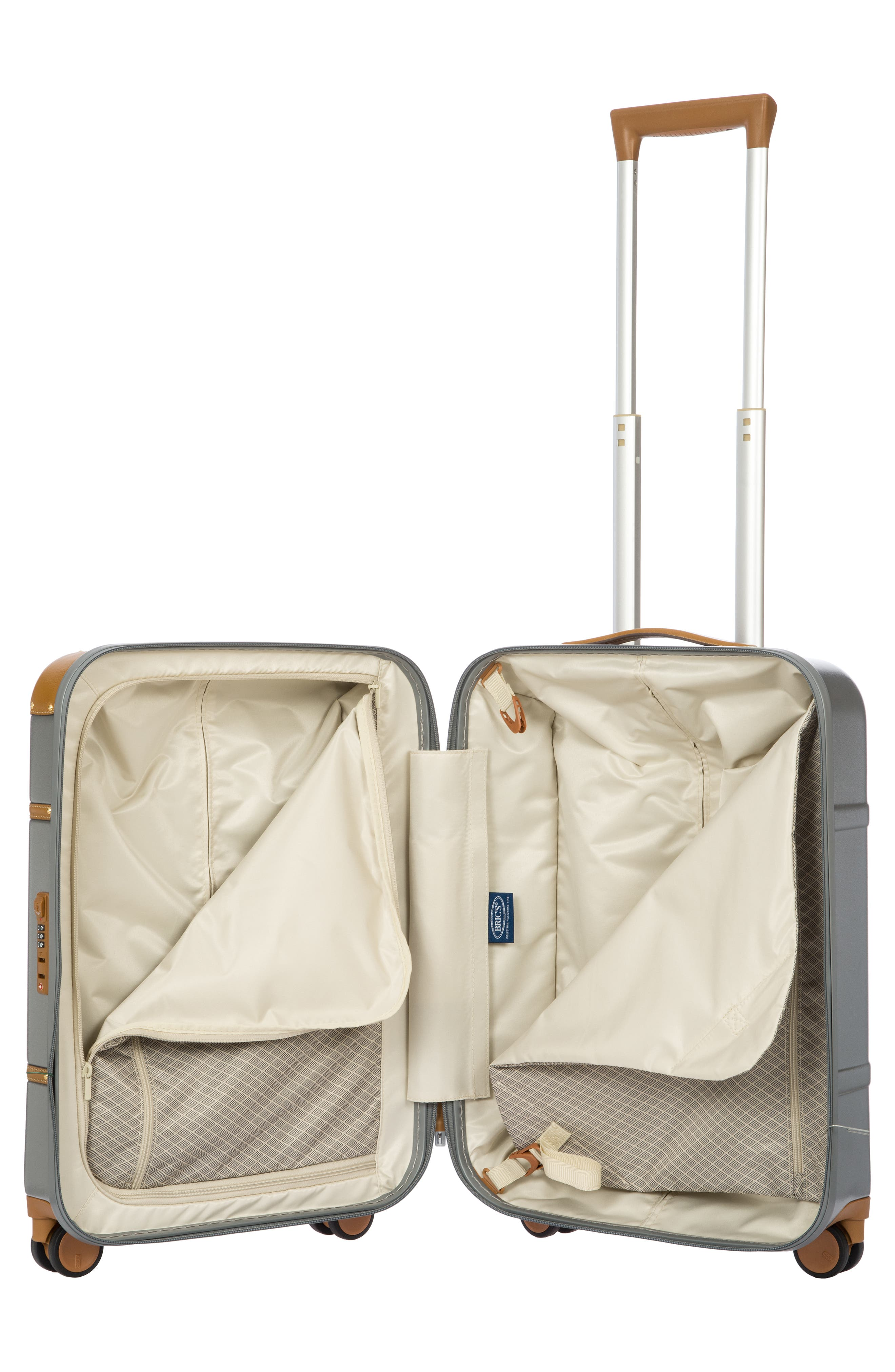 BRIC'S, Bellagio 2.0 21-Inch Rolling Carry-On, Alternate thumbnail 2, color, SILVER