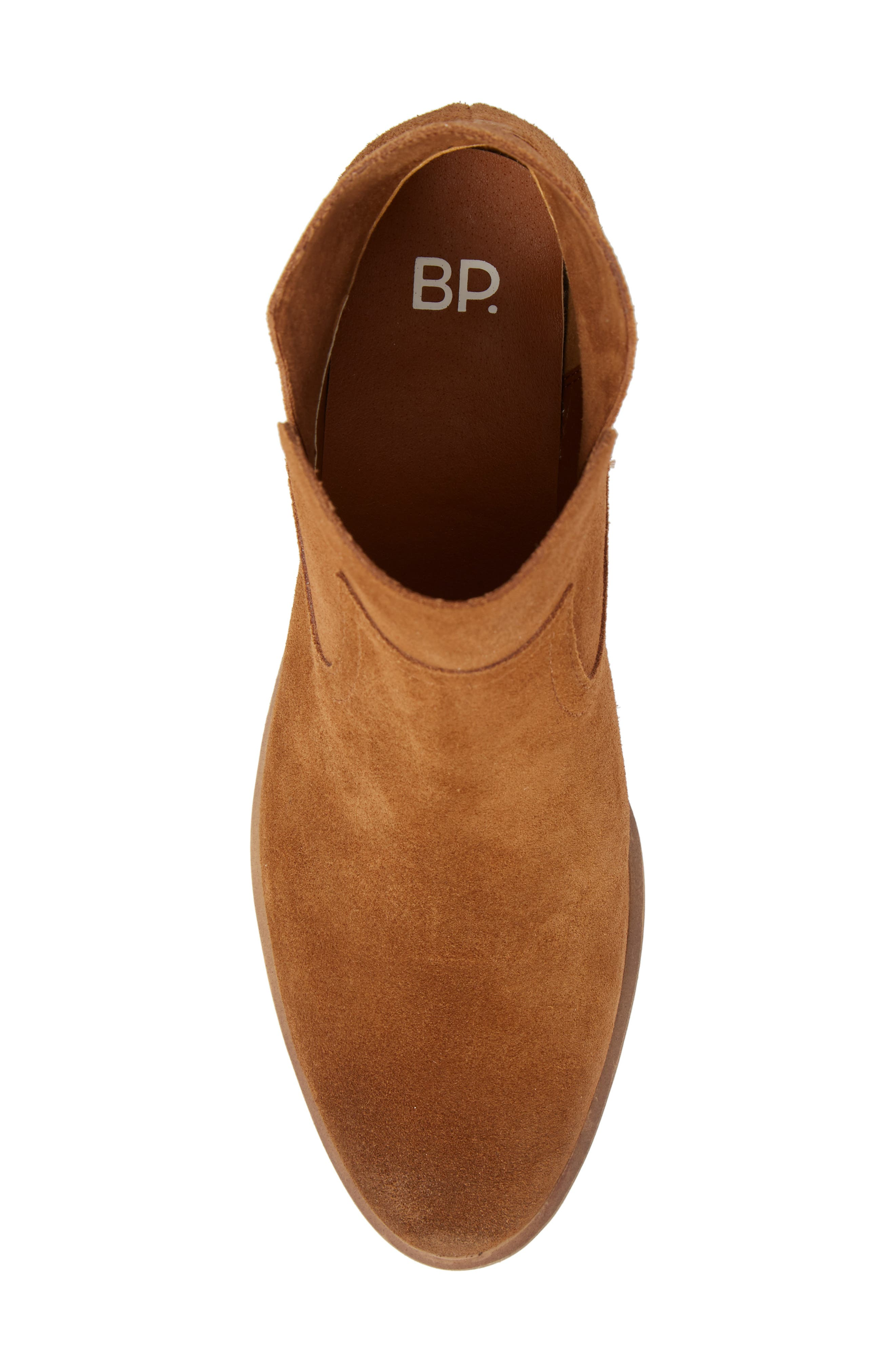 BP., Brice Notched Bootie, Alternate thumbnail 5, color, 200
