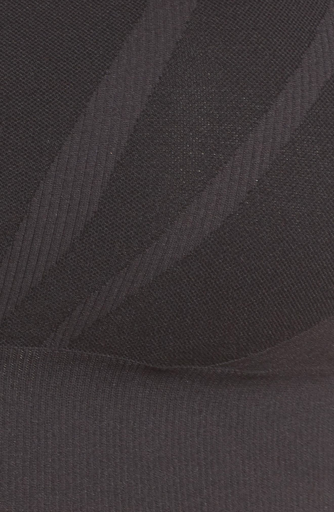 ZELLA BODY, Charge Sports Bra, Alternate thumbnail 6, color, BLACK