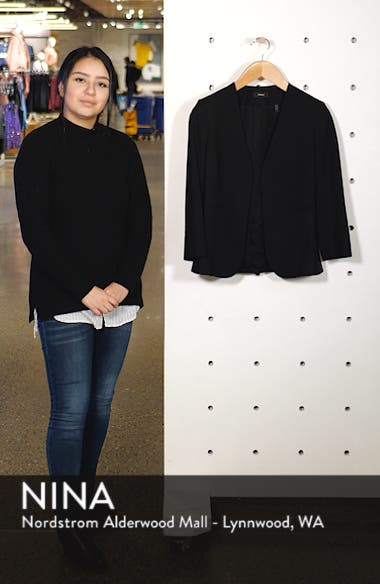 Lindrayia B Good Wool Suit Jacket, sales video thumbnail