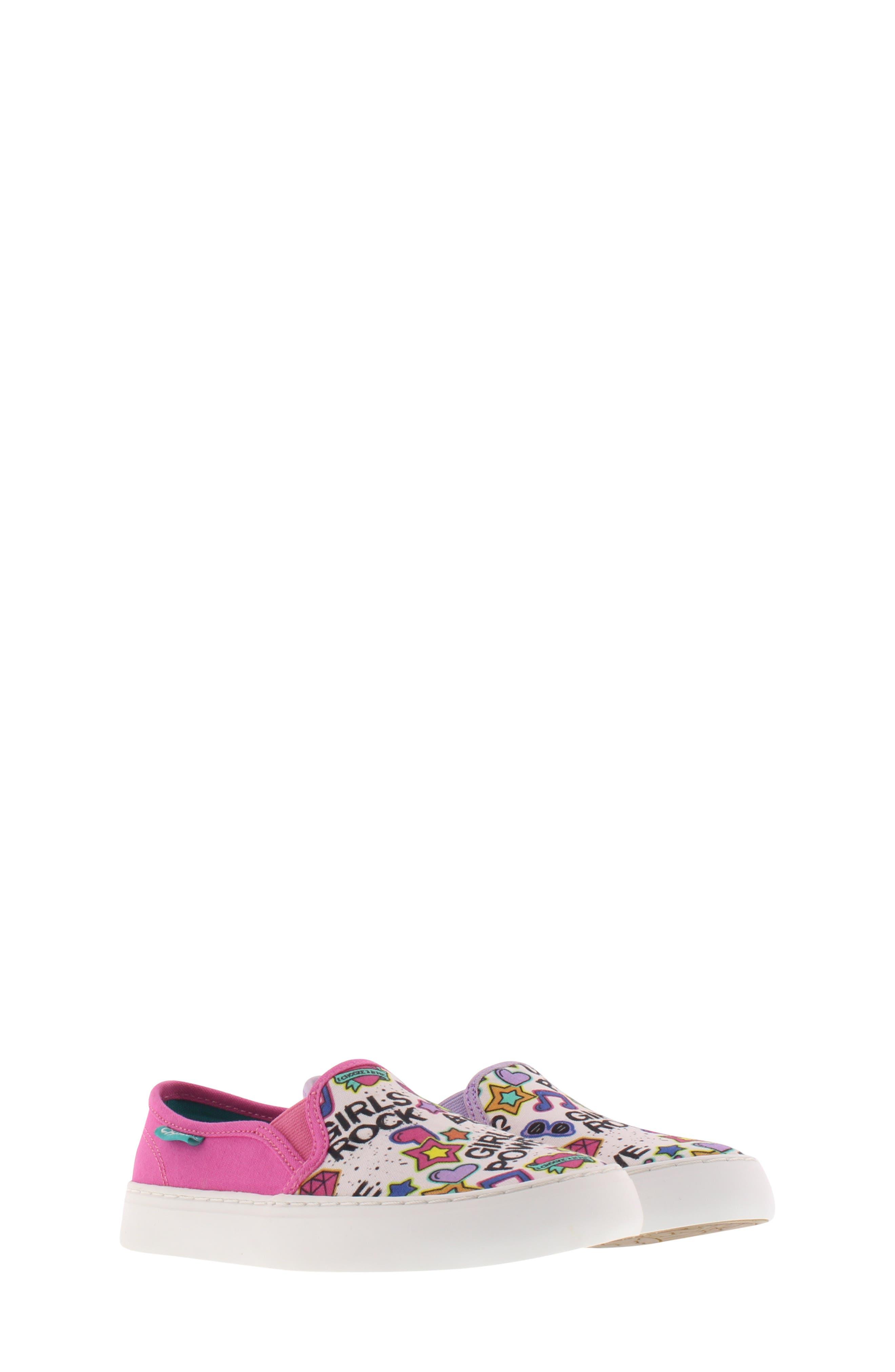CHOOZE, Move Motion Slip-On Sneaker, Main thumbnail 1, color, PINK LAVENDER