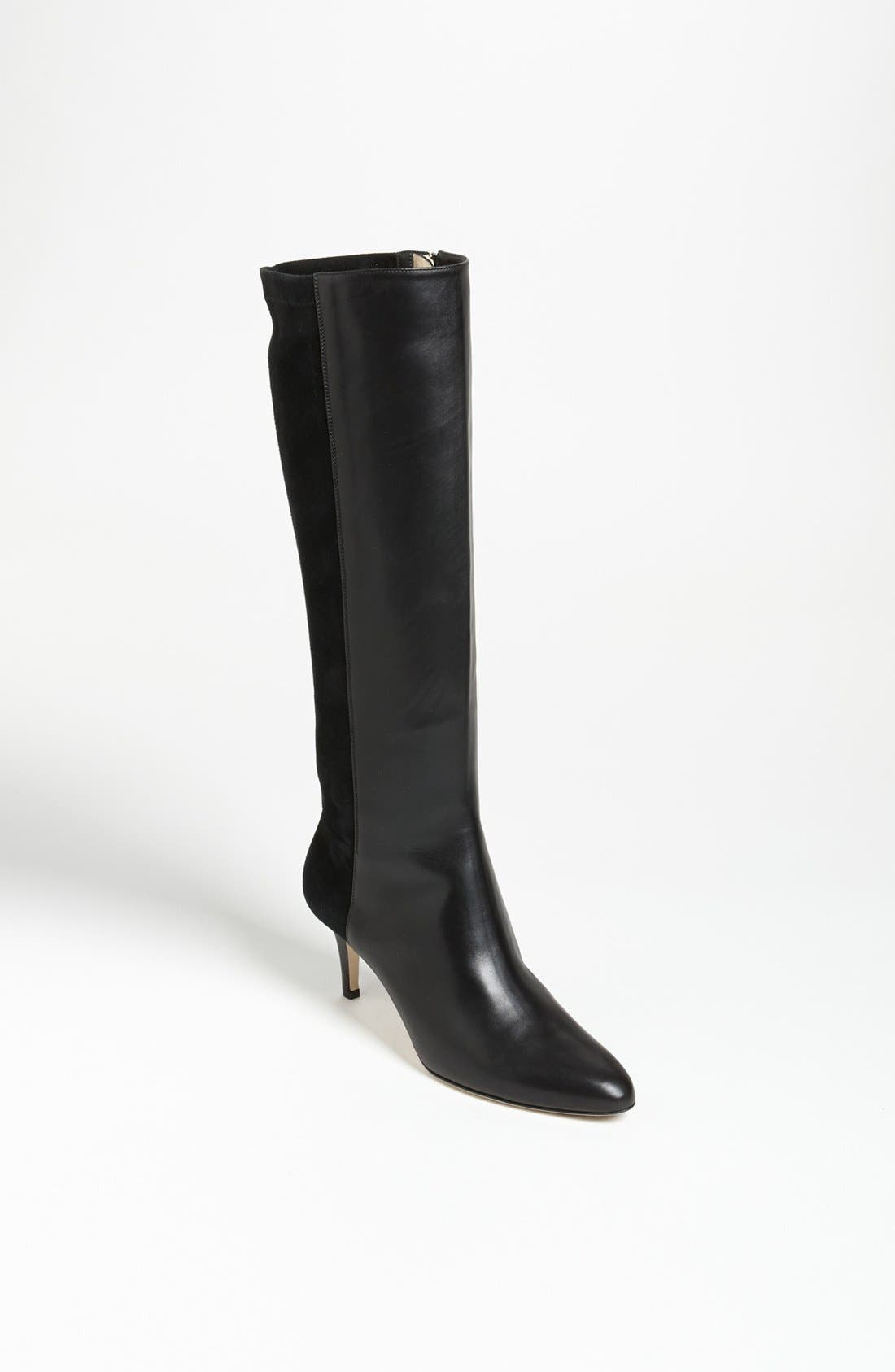 JIMMY CHOO, 'Aiden' Boot, Main thumbnail 1, color, 001