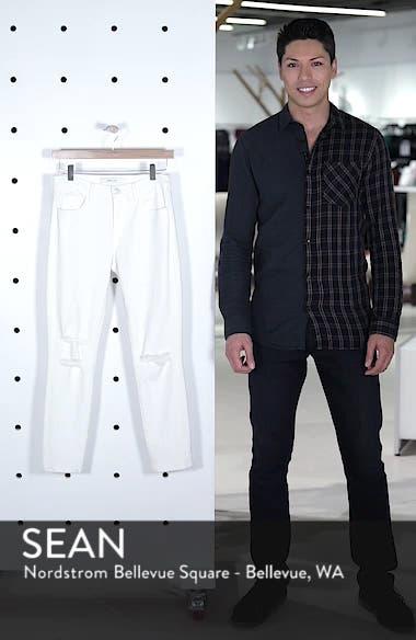 Mid-Rise Capri Skinny Jeans, sales video thumbnail