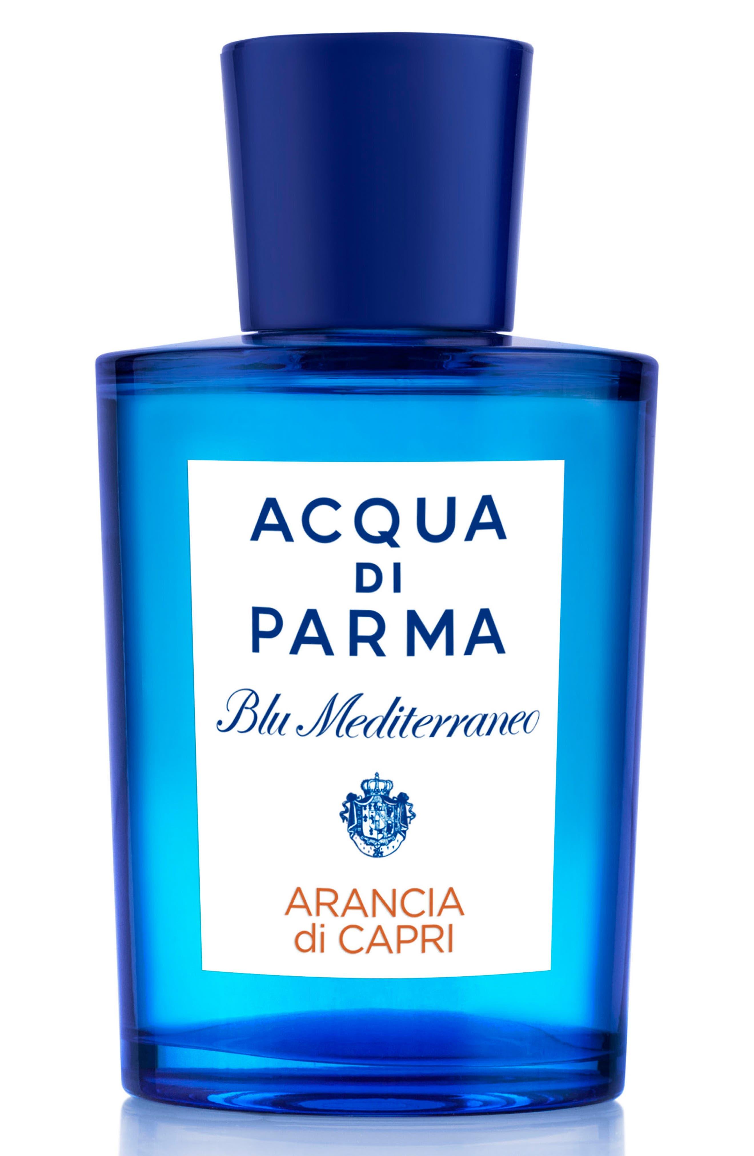 ACQUA DI PARMA, Blu Mediterraneo Arancia di Capri Eau de Toilette, Alternate thumbnail 4, color, NO COLOR