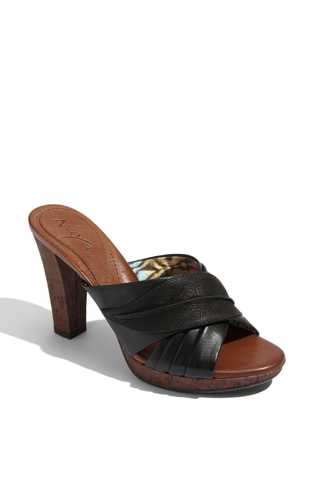 NAYA 'Willa' Sandal, Main, color, 001
