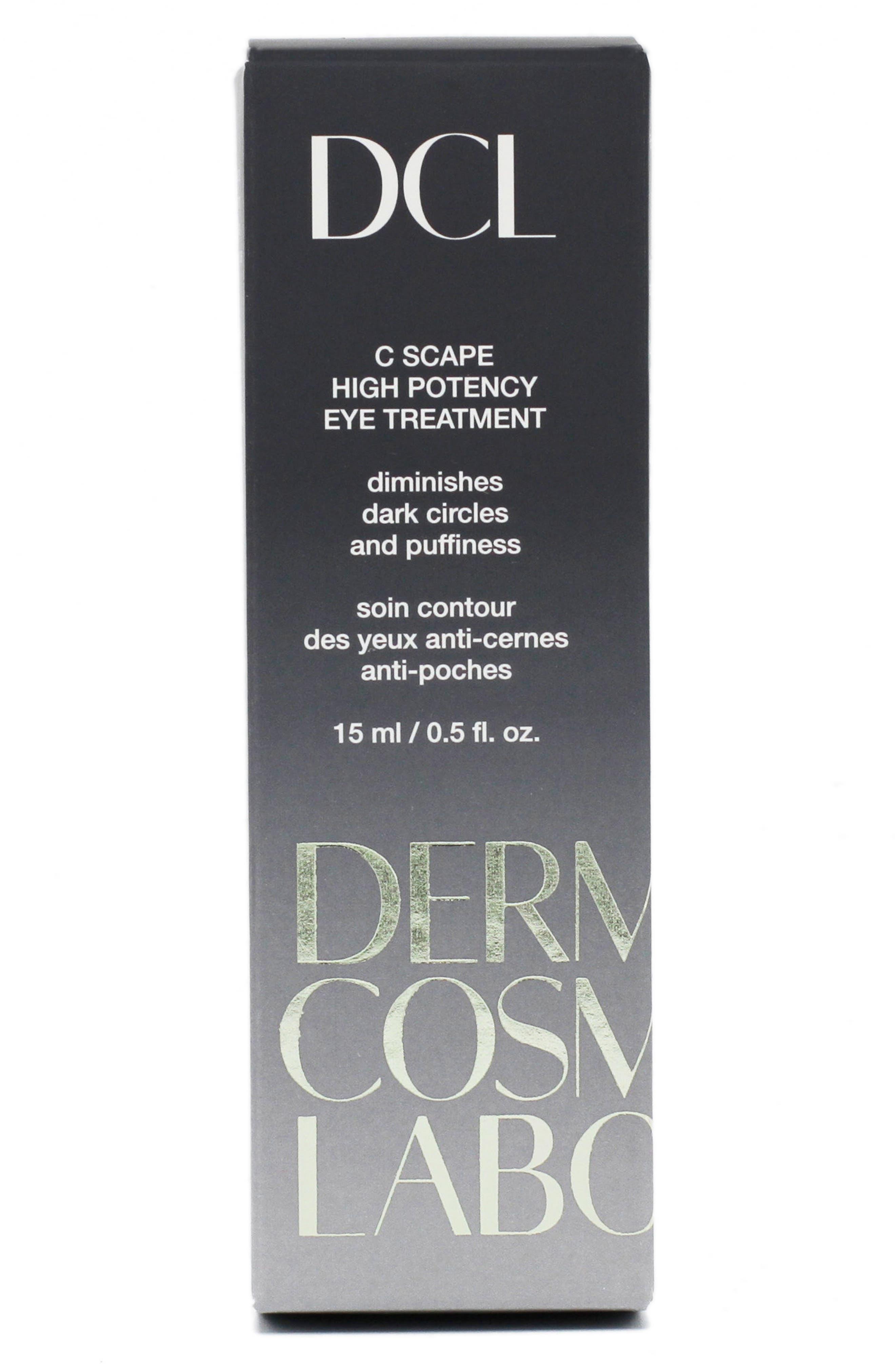 DERMATOLOGIC COSMETIC LABORATORIES, C Scape High Potency Eye Treatment, Alternate thumbnail 4, color, 000