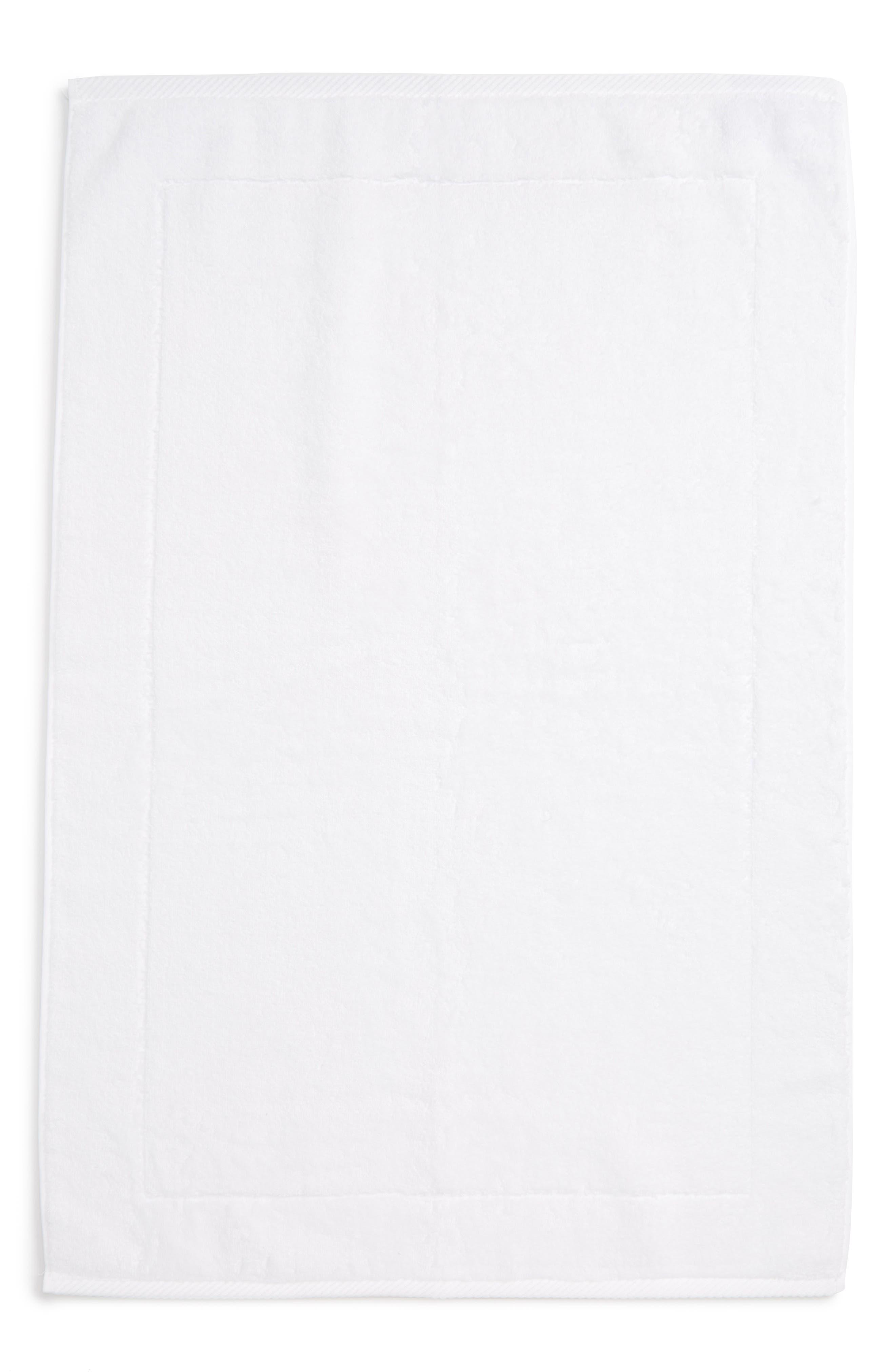 MATOUK, Milagro Bath Mat, Main thumbnail 1, color, WHITE