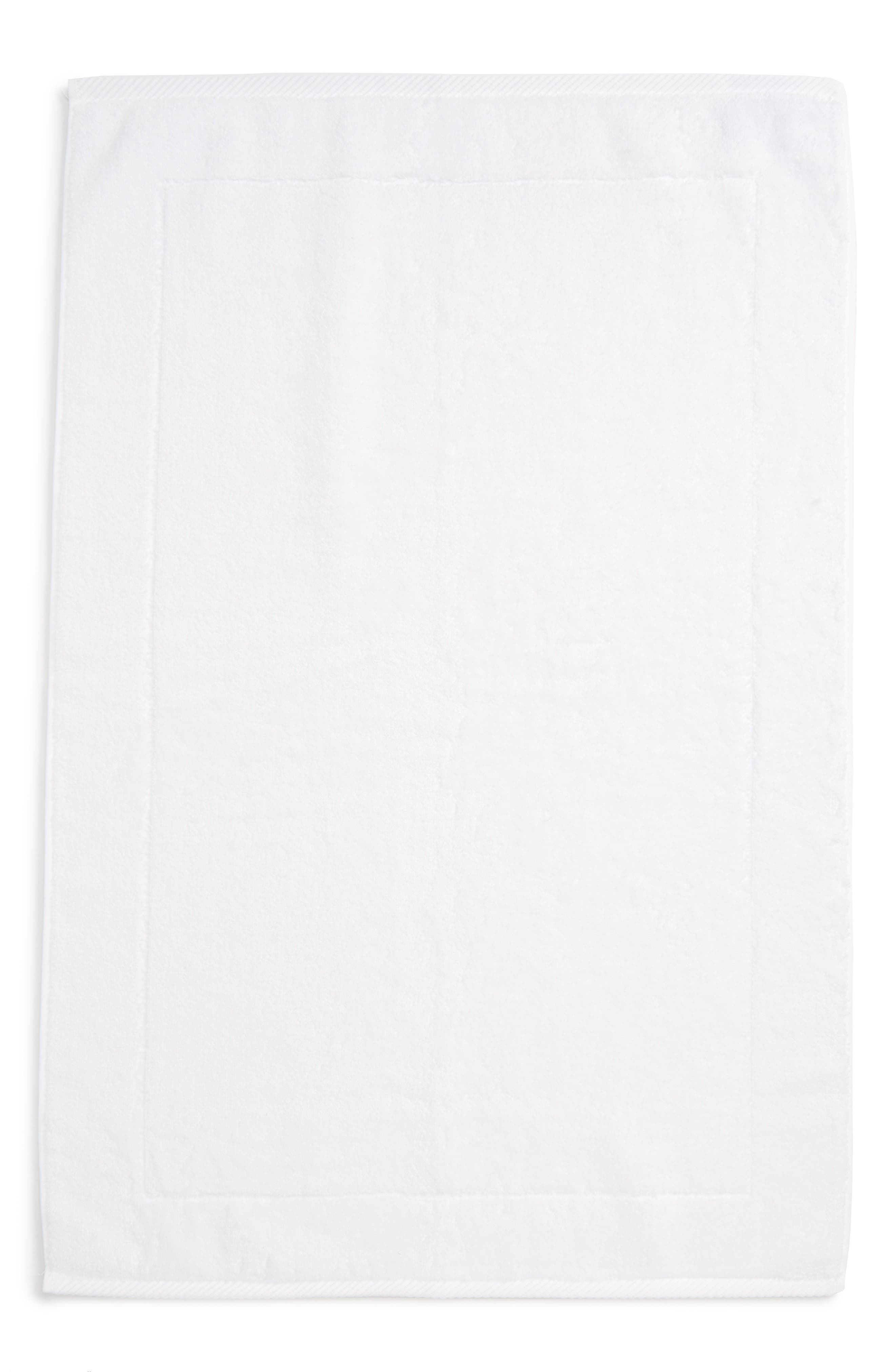 MATOUK Milagro Bath Mat, Main, color, WHITE