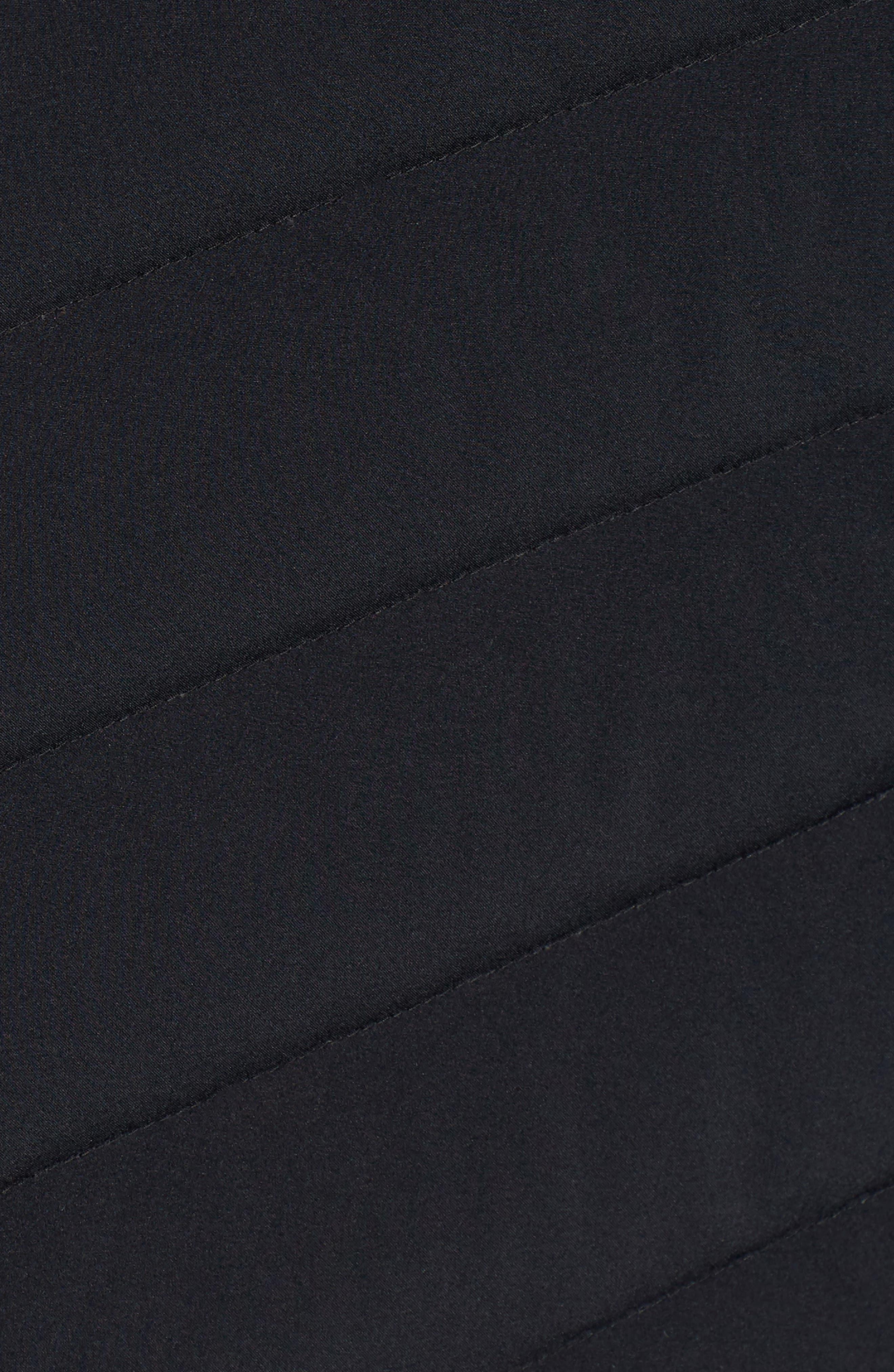 MARC NEW YORK, Delavan Down Hooded Jacket, Alternate thumbnail 6, color, BLACK