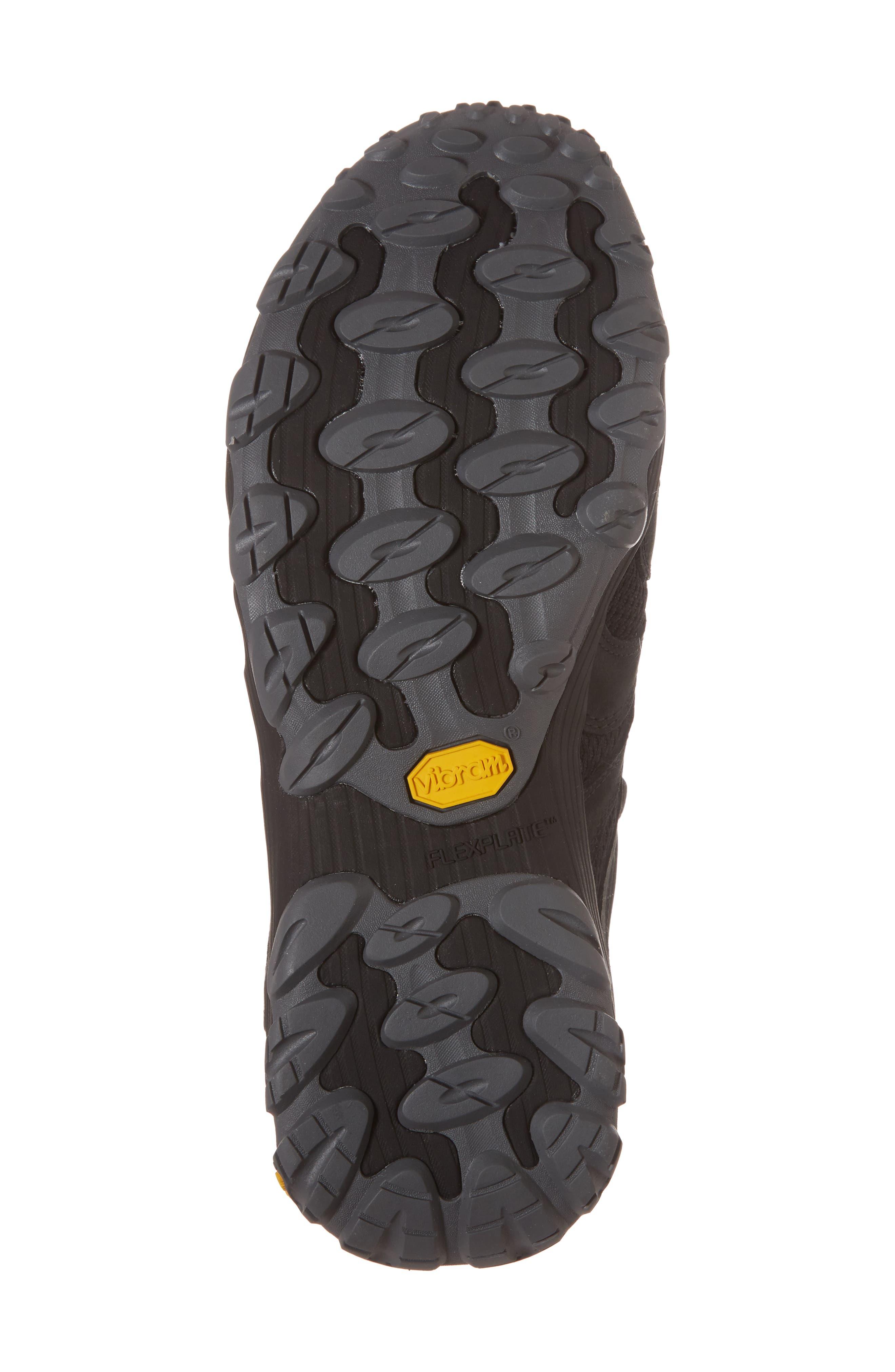 MERRELL, Chameleon 7 Stretch Hiking Shoe, Alternate thumbnail 6, color, BLACK