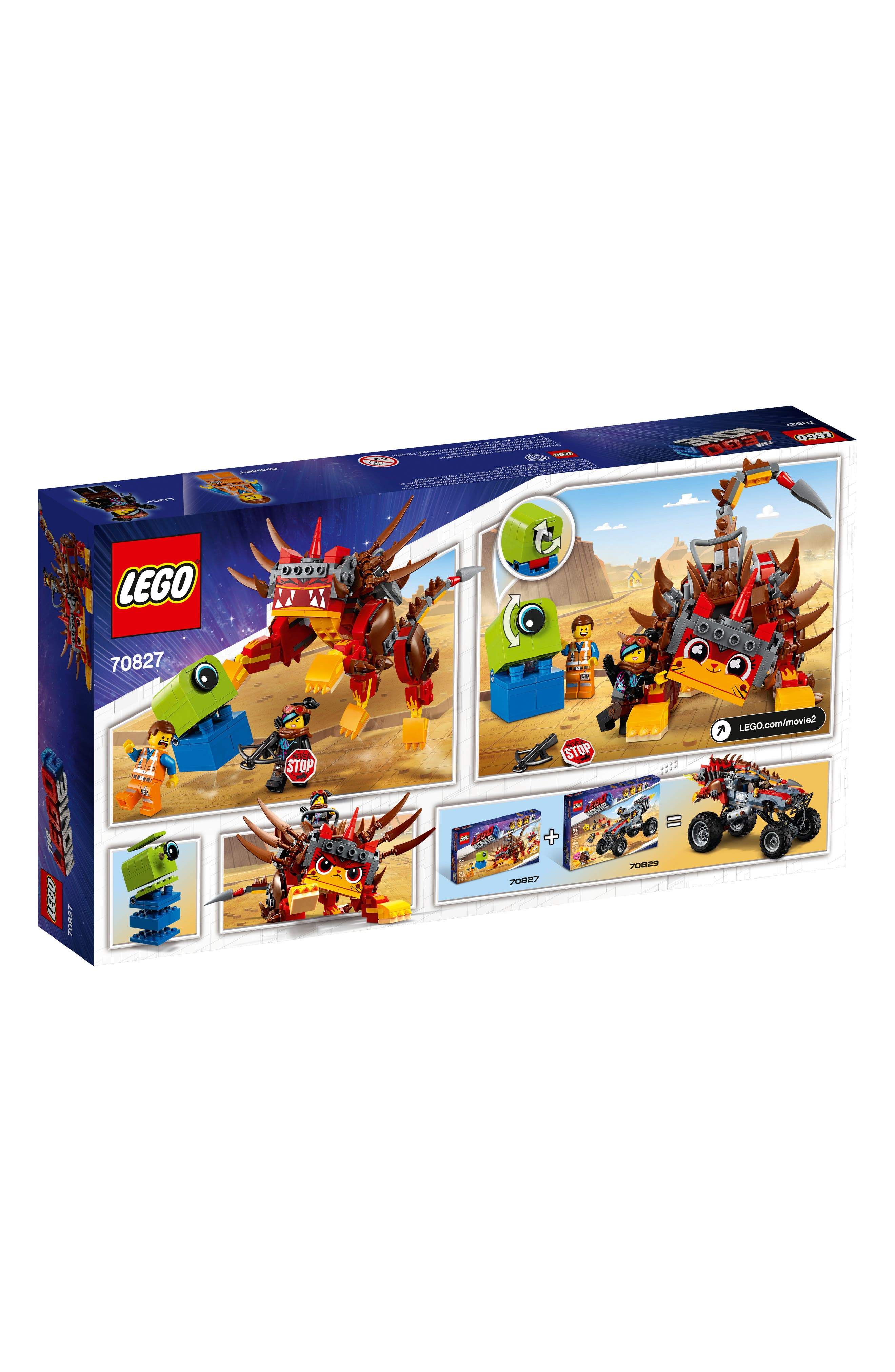 LEGO<SUP>®</SUP>, The LEGO<sup>®</sup> Movie 2 UItrakatty & Warrior Lucy Play Set - 70827, Alternate thumbnail 4, color, 960
