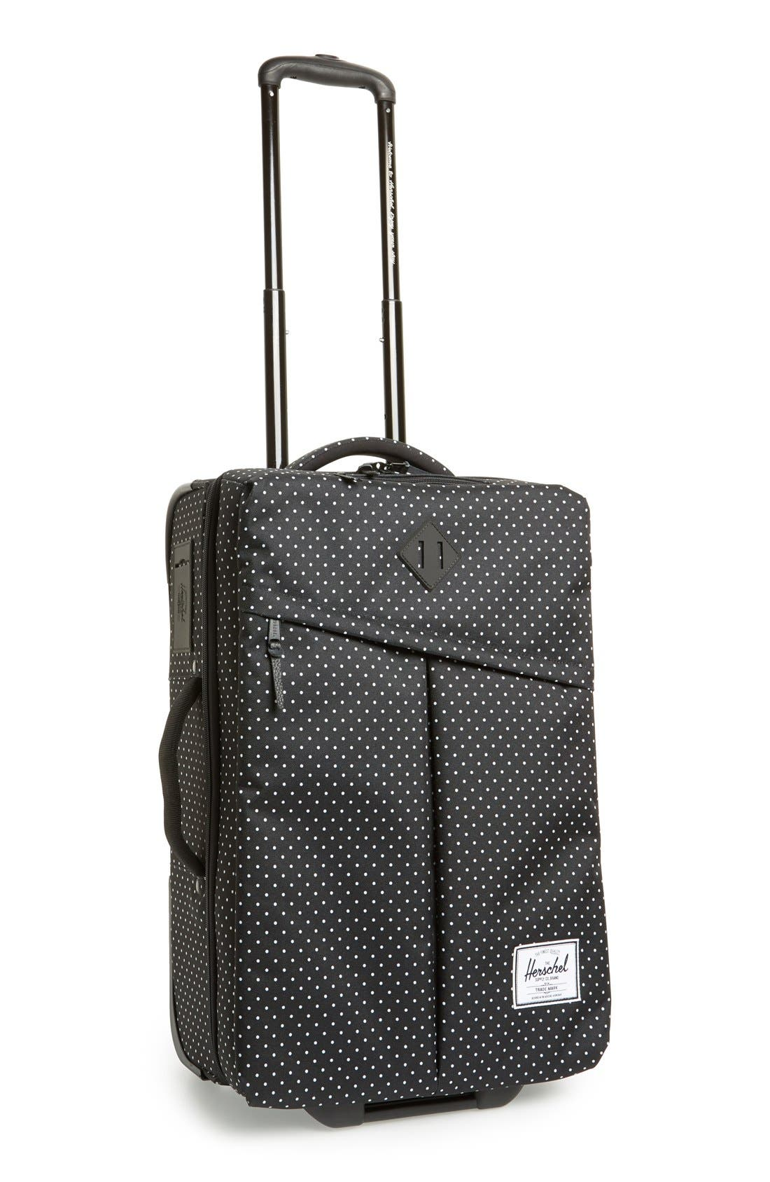 HERSCHEL SUPPLY CO., Herschel Supply Co 'Campaign' Wheeled Carry-On, Main thumbnail 1, color, 005