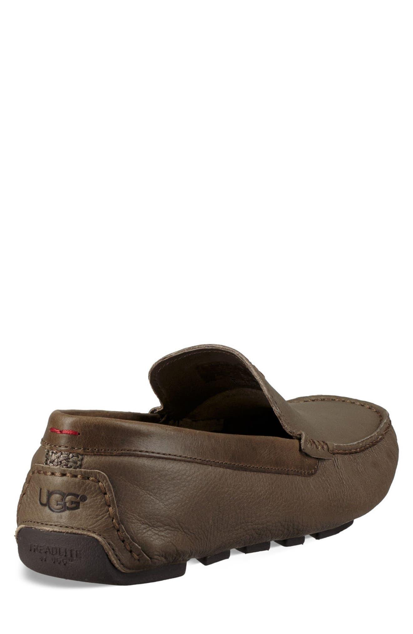 UGG<SUP>®</SUP>, 'Henrick' Driving Shoe, Alternate thumbnail 2, color, TAUPE