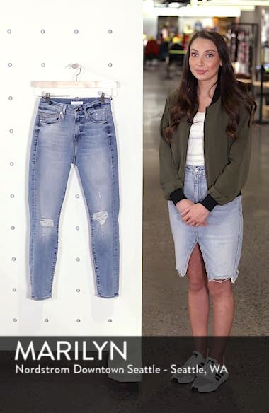 Good Legs Ripped Crop Skinny Jeans, sales video thumbnail