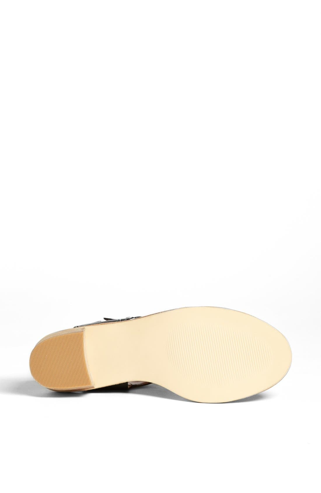 DV BY DOLCE VITA, 'Zinc' Sandal, Alternate thumbnail 4, color, 001