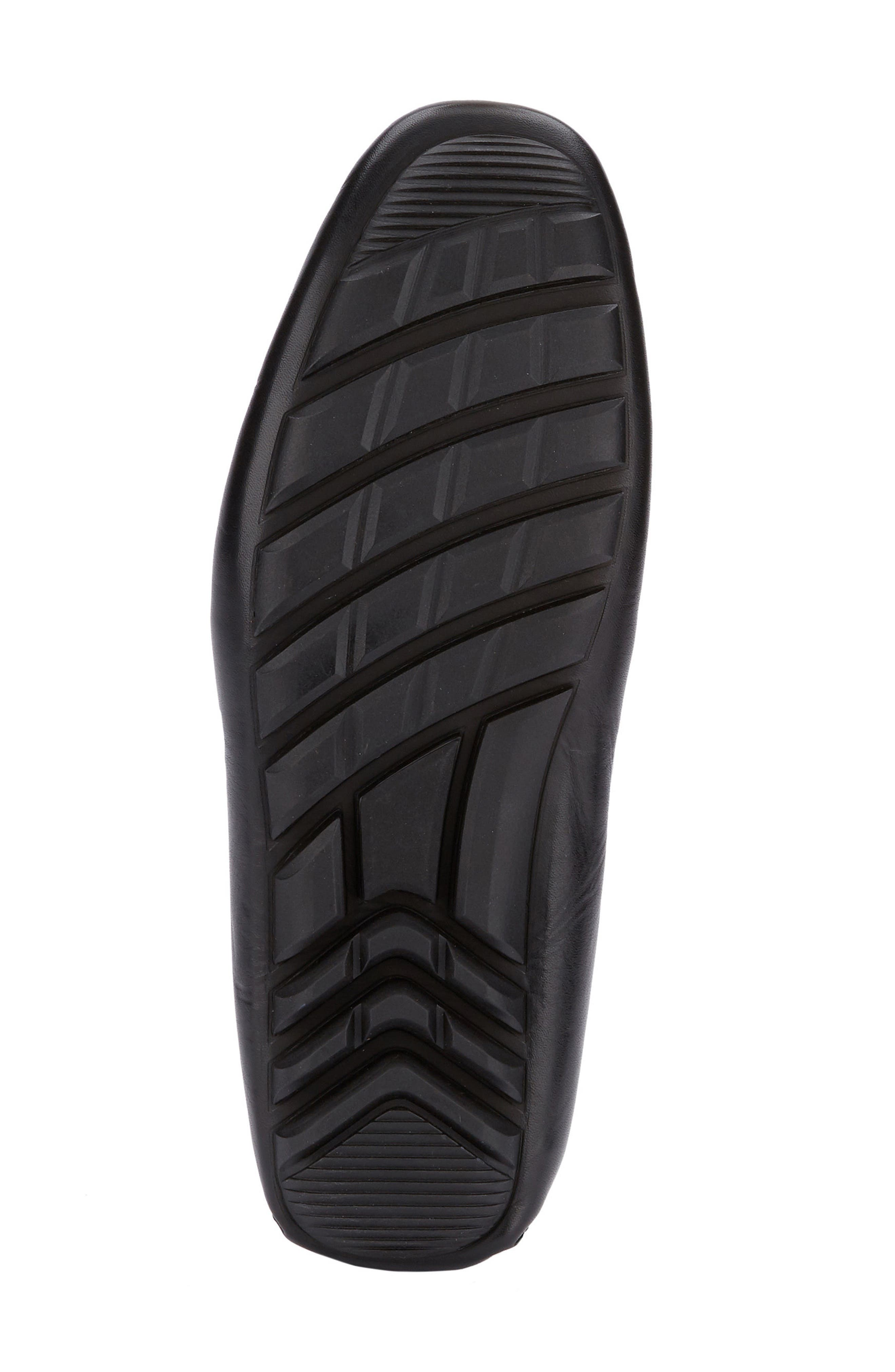G.H. BASS & CO., Walter Driving Shoe, Alternate thumbnail 5, color, BLACK