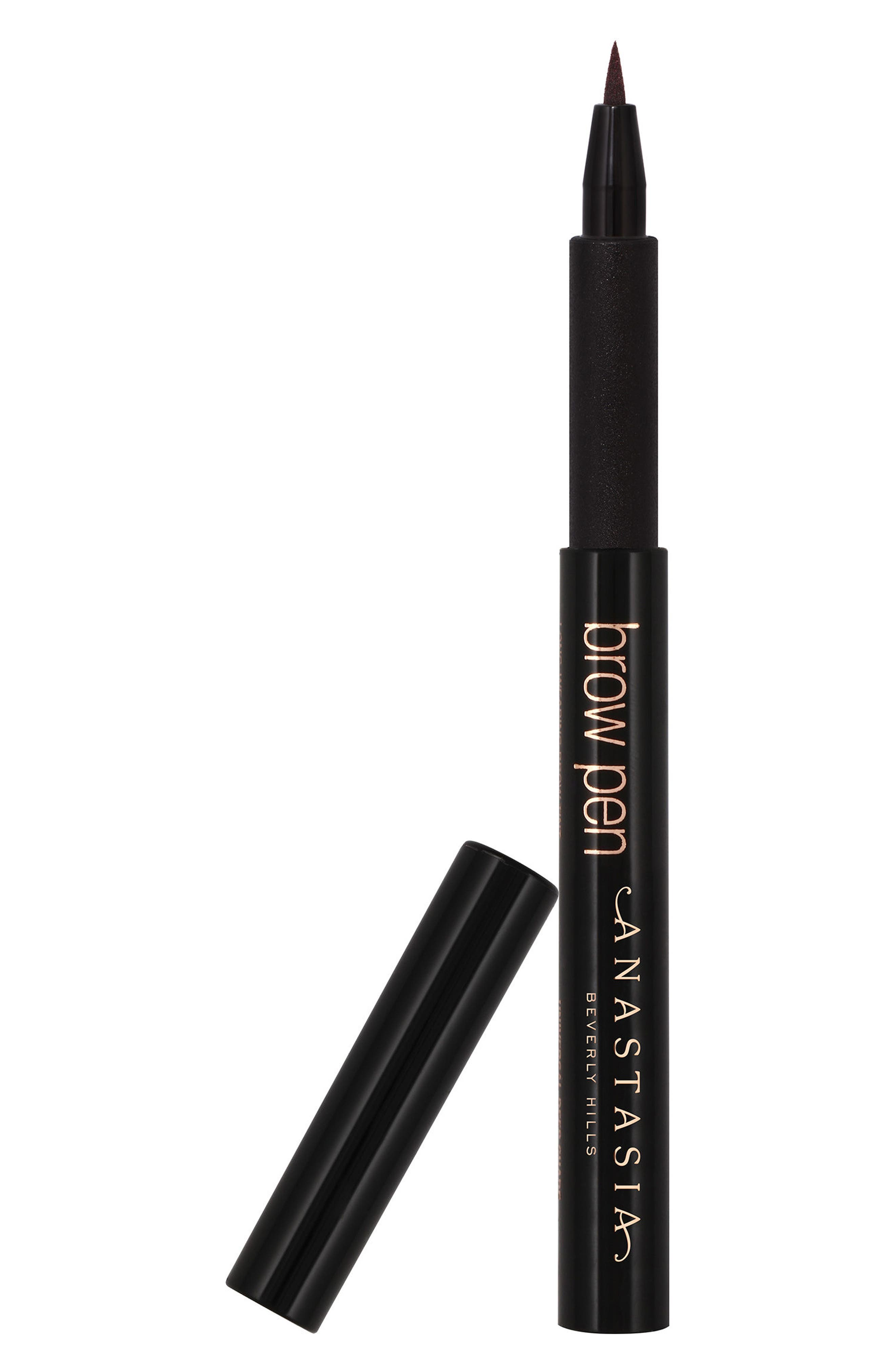 ANASTASIA BEVERLY HILLS, Brow Pen, Alternate thumbnail 2, color, 000