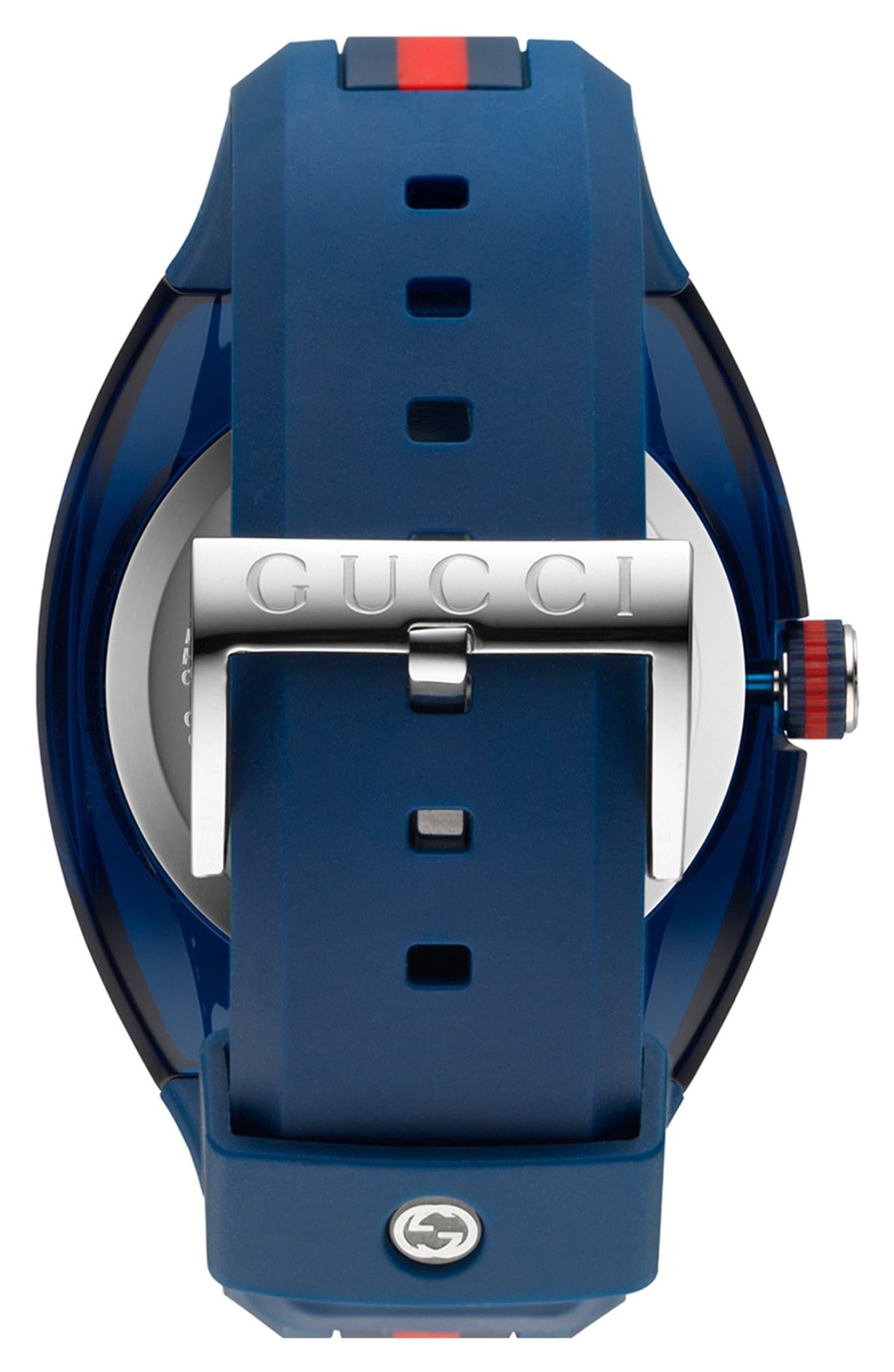 176764fc741 Gucci  Sync - XXL  Rubber Strap Watch