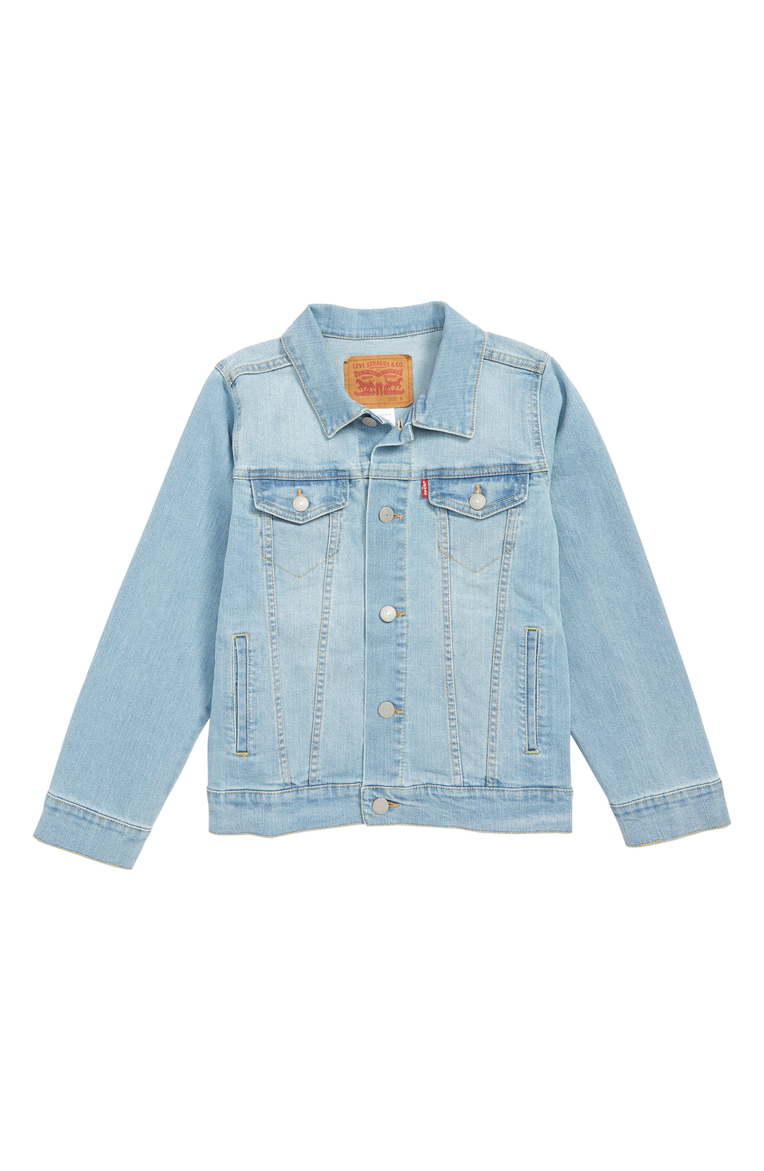 LEVI'S<SUP>®</SUP> Trucker Denim Jacket, Main, color, YOSEMITE FALLS