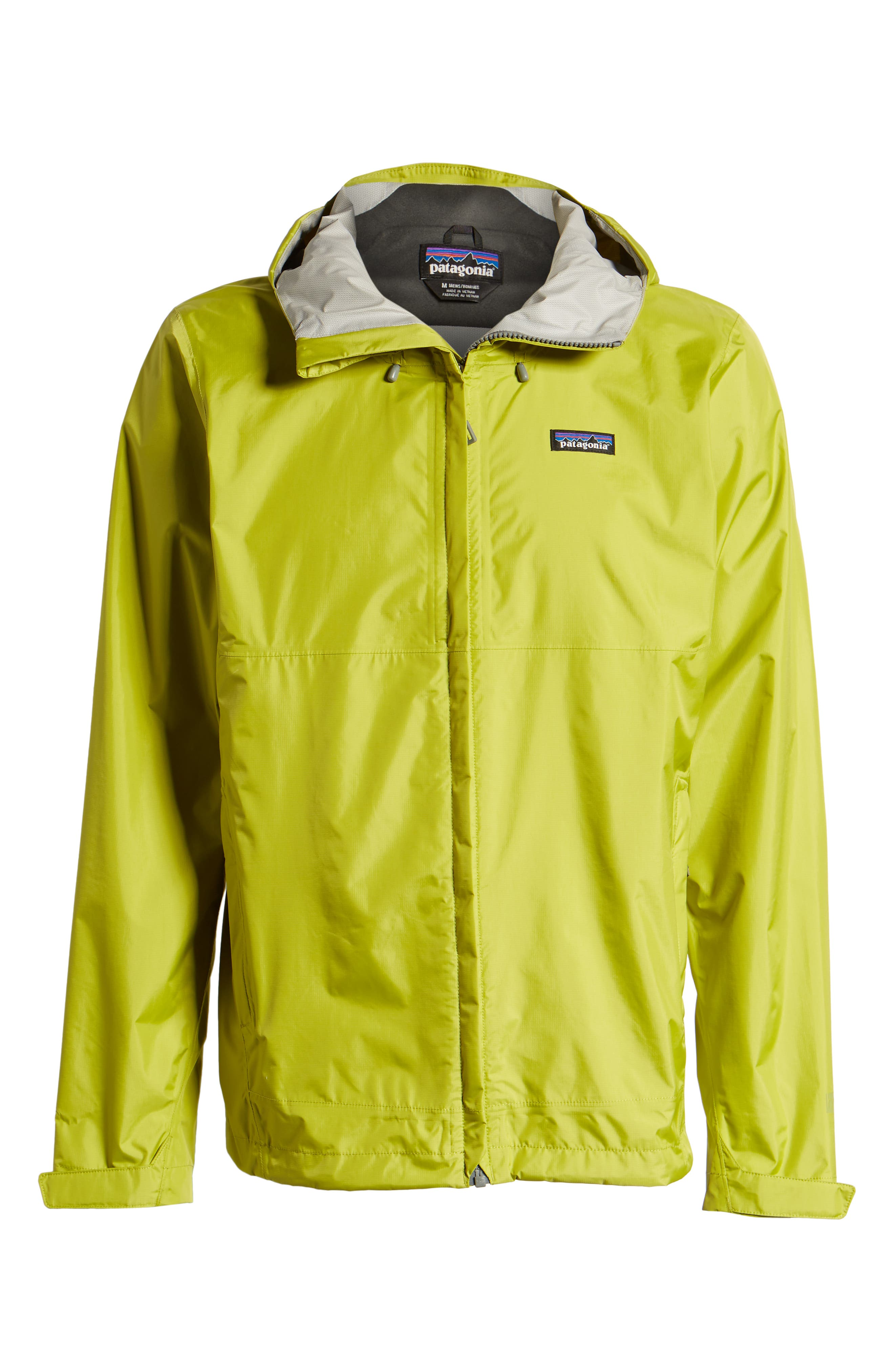 PATAGONIA, Torrentshell Packable Rain Jacket, Alternate thumbnail 6, color, FOLIOS GREEN