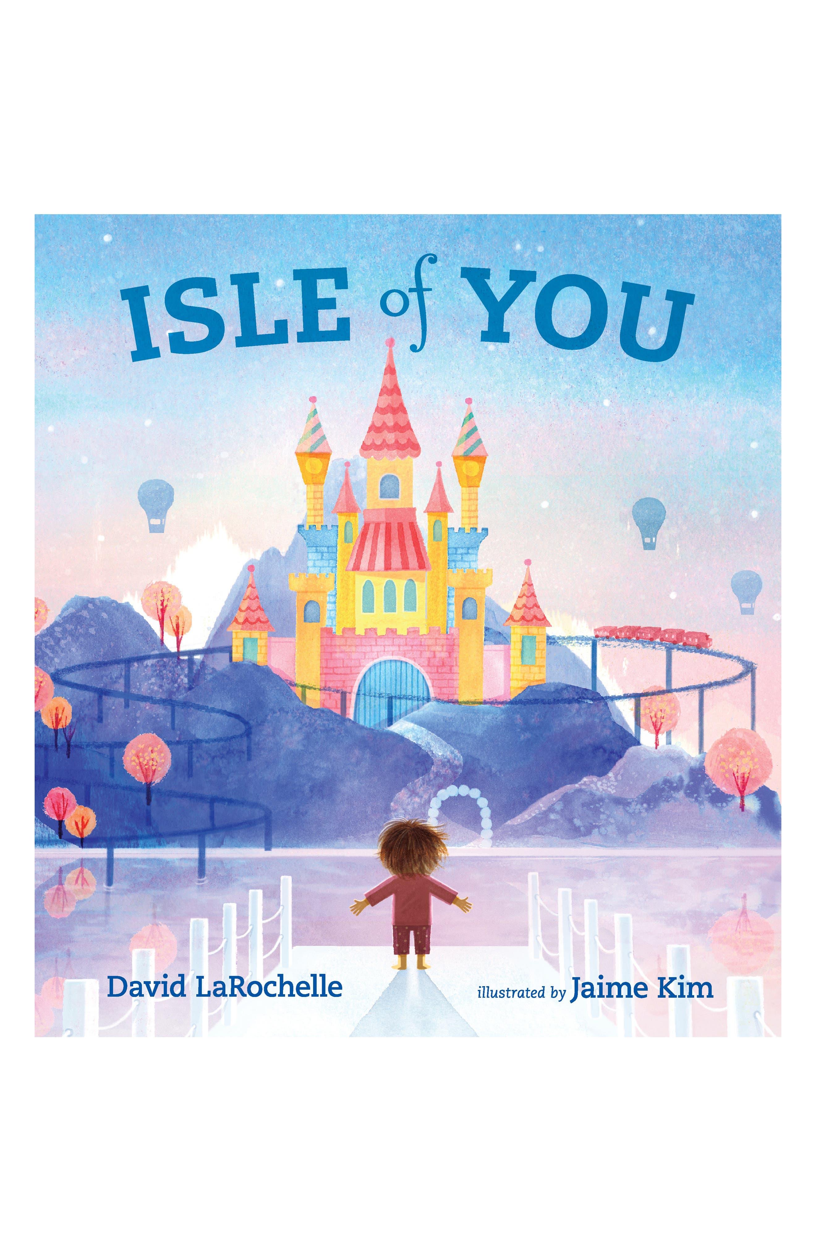 PENGUIN RANDOM HOUSE, 'Isle of You' Book, Main thumbnail 1, color, LIGHT/ PASTEL BLUE