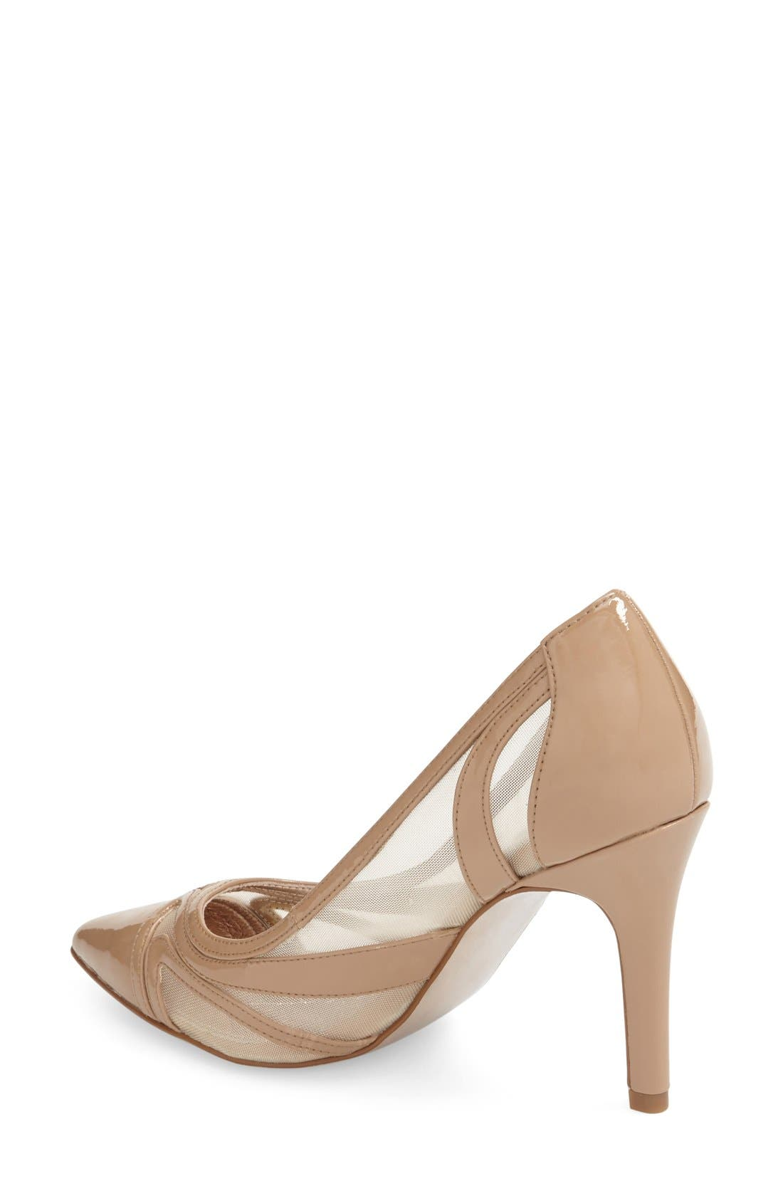 ADRIANNA PAPELL, 'Amal' Pointy Toe Pump, Alternate thumbnail 3, color, 251
