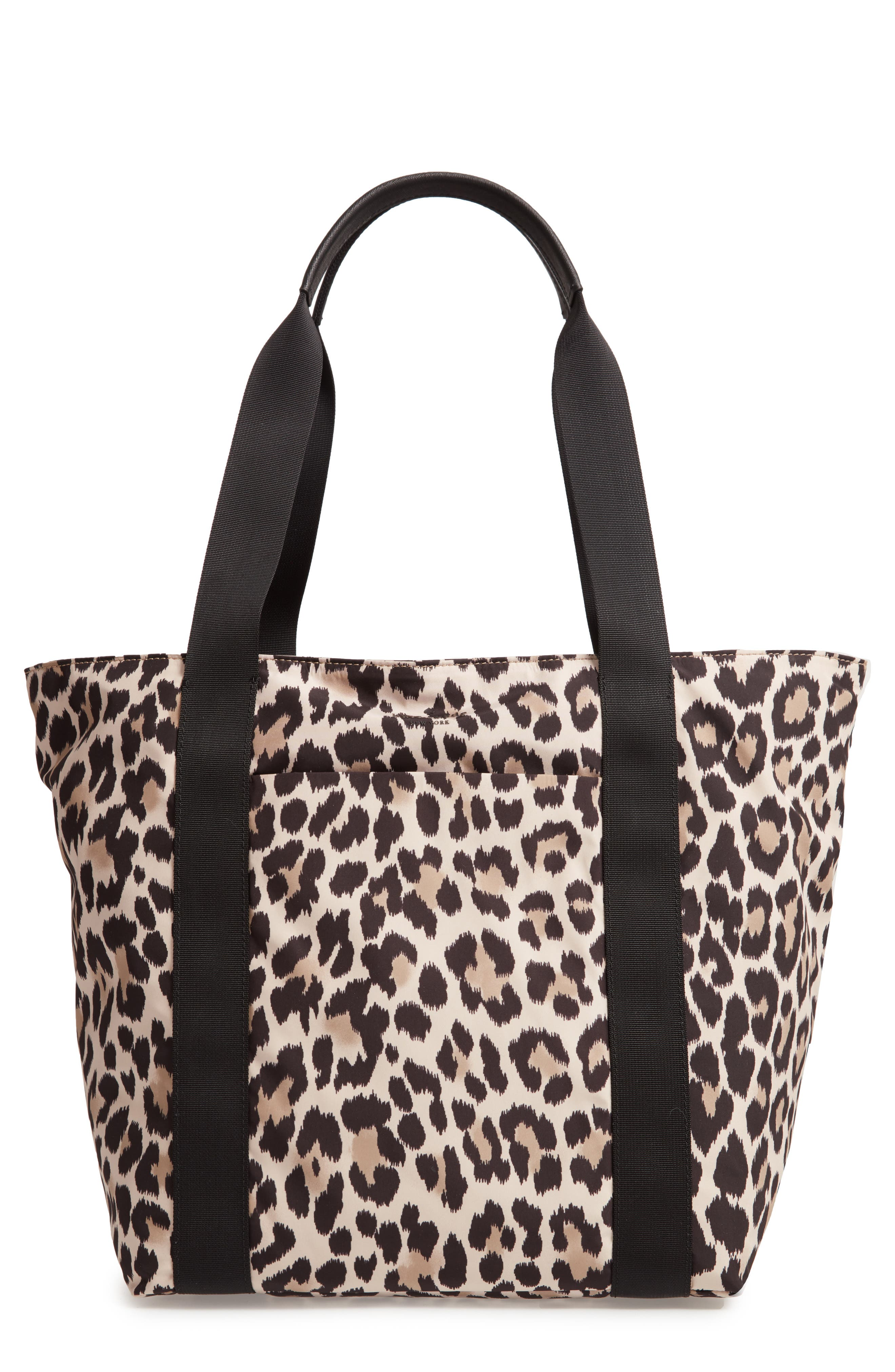 KATE SPADE NEW YORK that's the spirit nylon tote, Main, color, 001