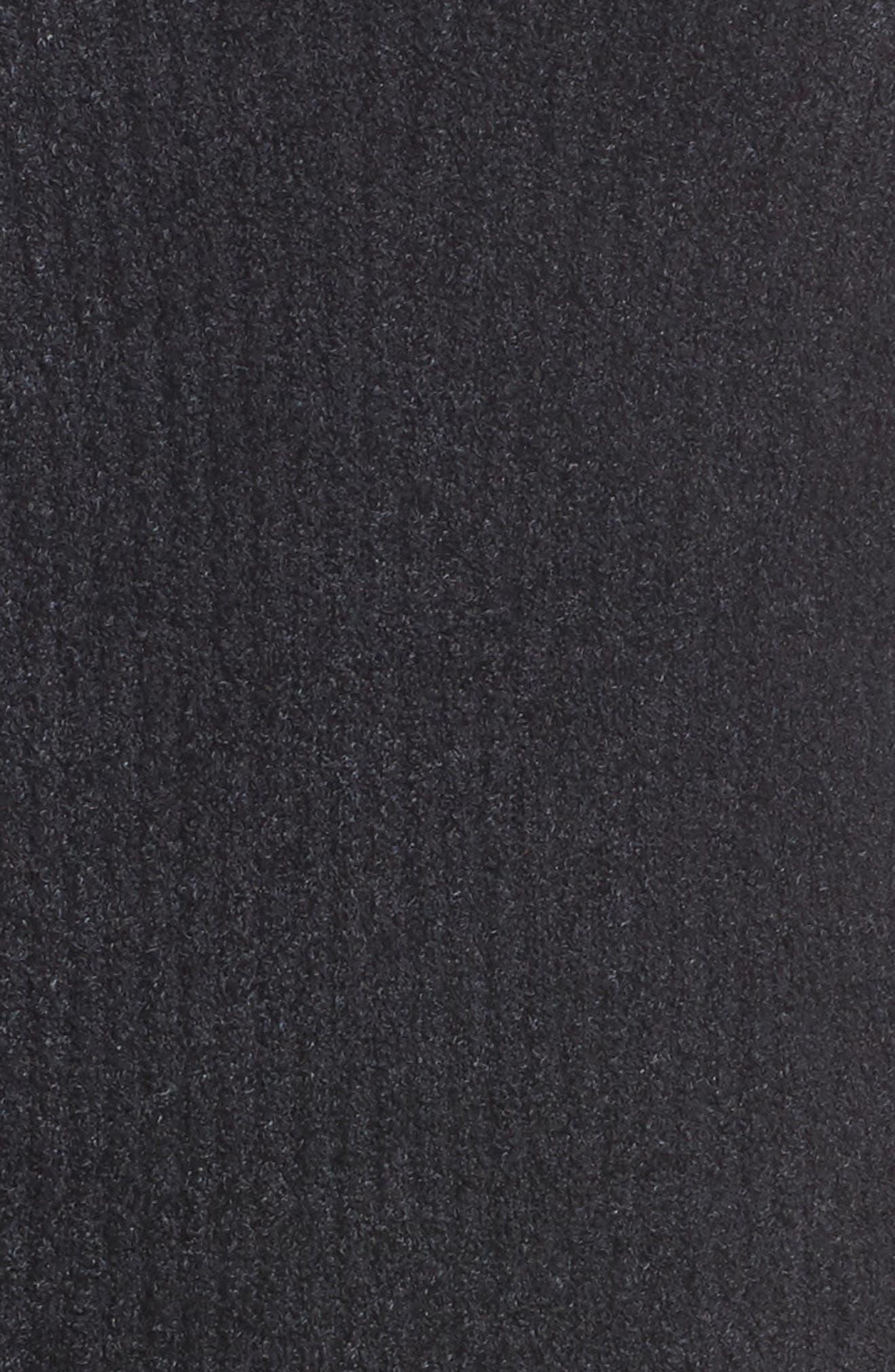 BAREFOOT DREAMS<SUP>®</SUP>, Montecito Cardigan, Alternate thumbnail 5, color, BLACK