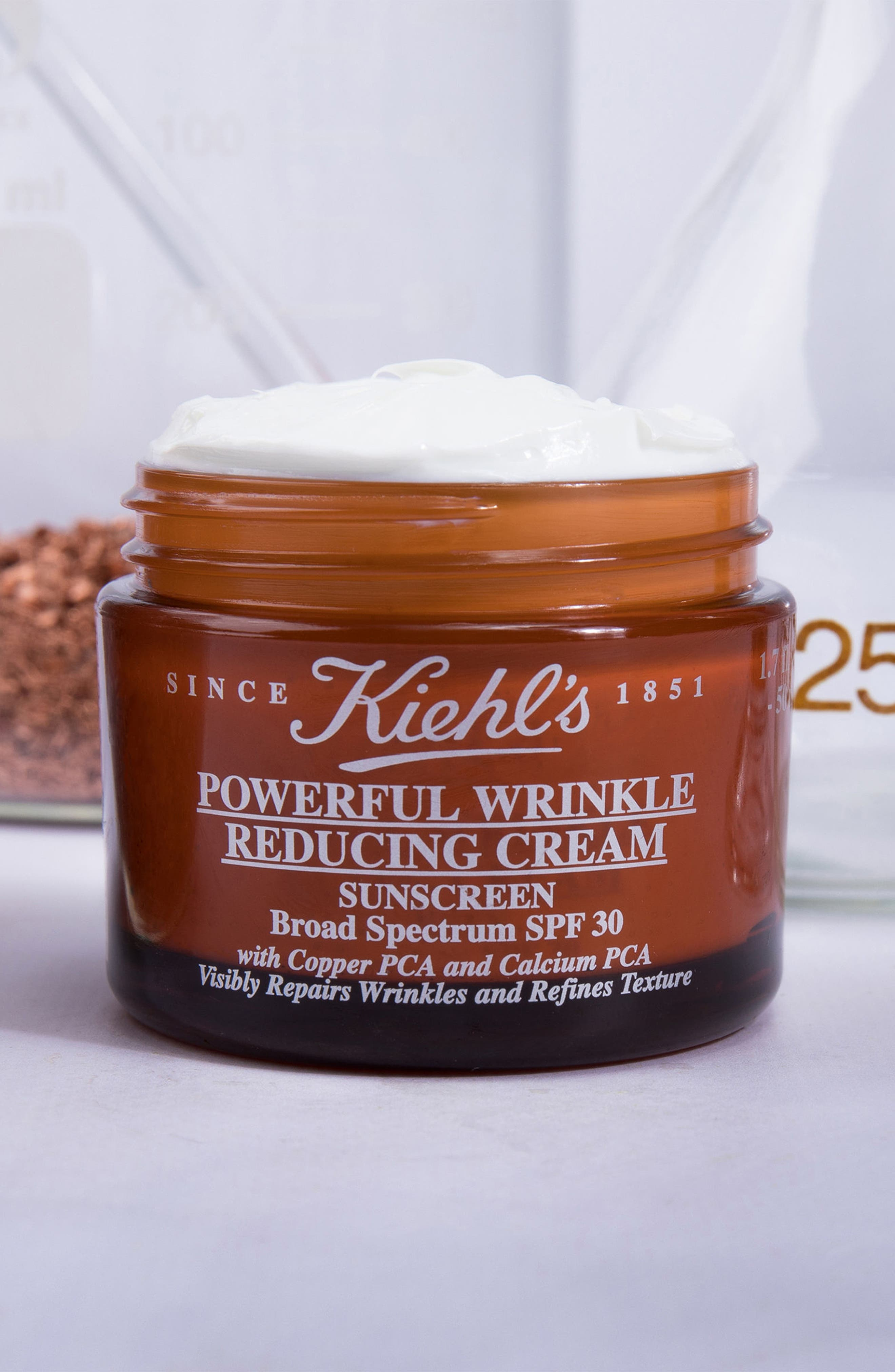 KIEHL'S SINCE 1851, Powerful Wrinkle Reducing Cream Broad Spectrum SPF 30, Alternate thumbnail 5, color, NO COLOR