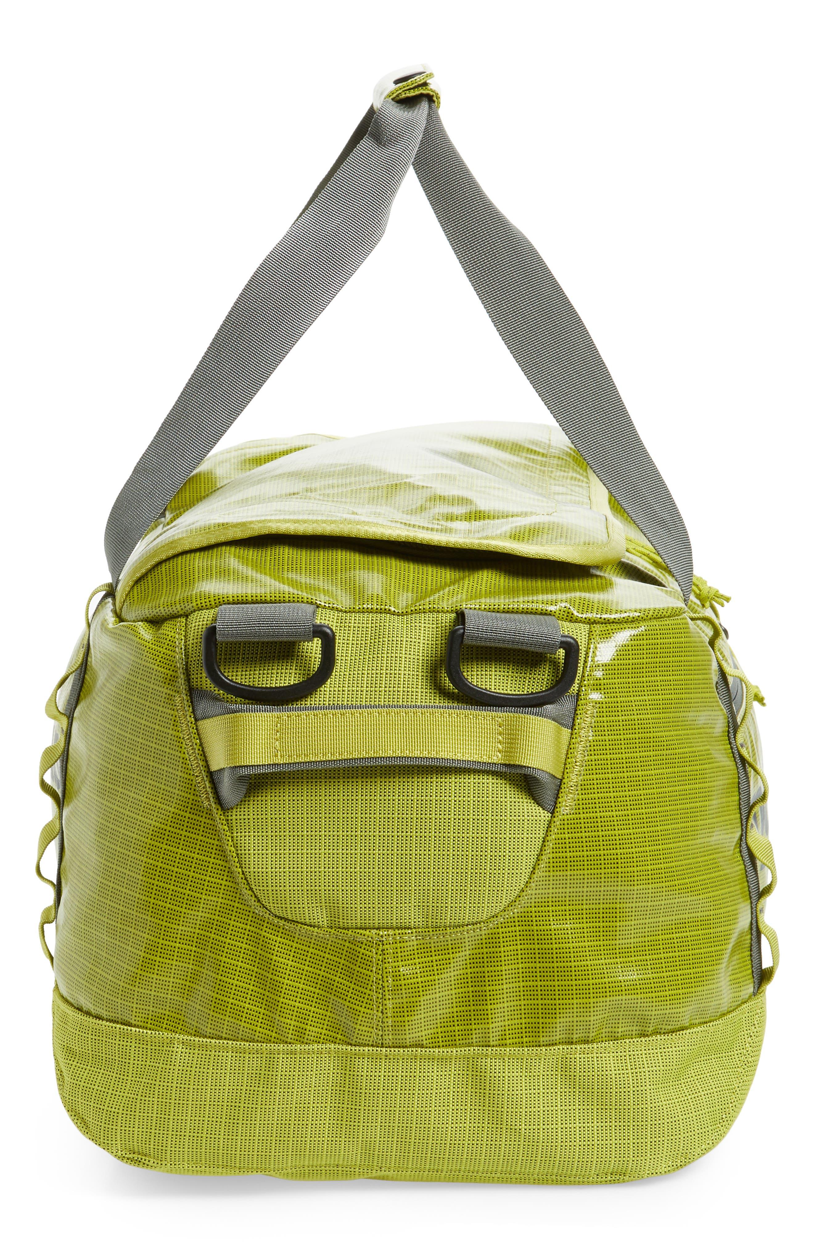PATAGONIA, Black Hole Water Repellent 45-Liter Duffel Bag, Alternate thumbnail 7, color, FOLIOS GREEN