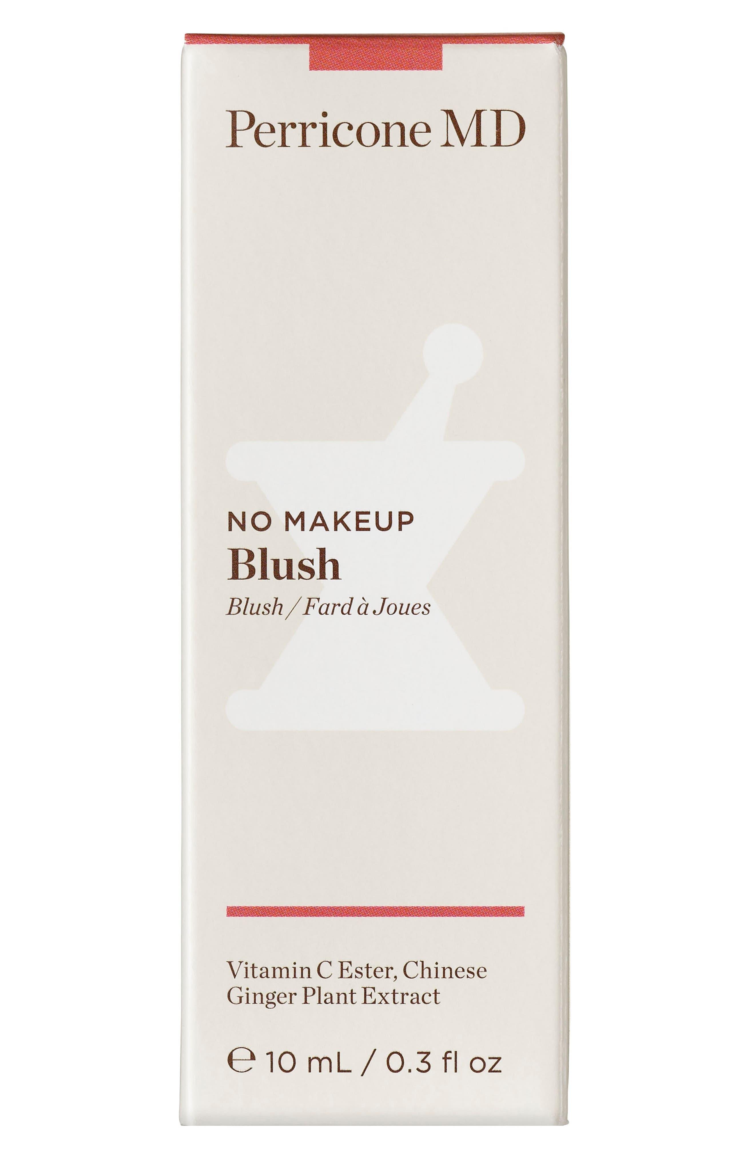 PERRICONE MD, No Makeup Blush, Alternate thumbnail 3, color, 000