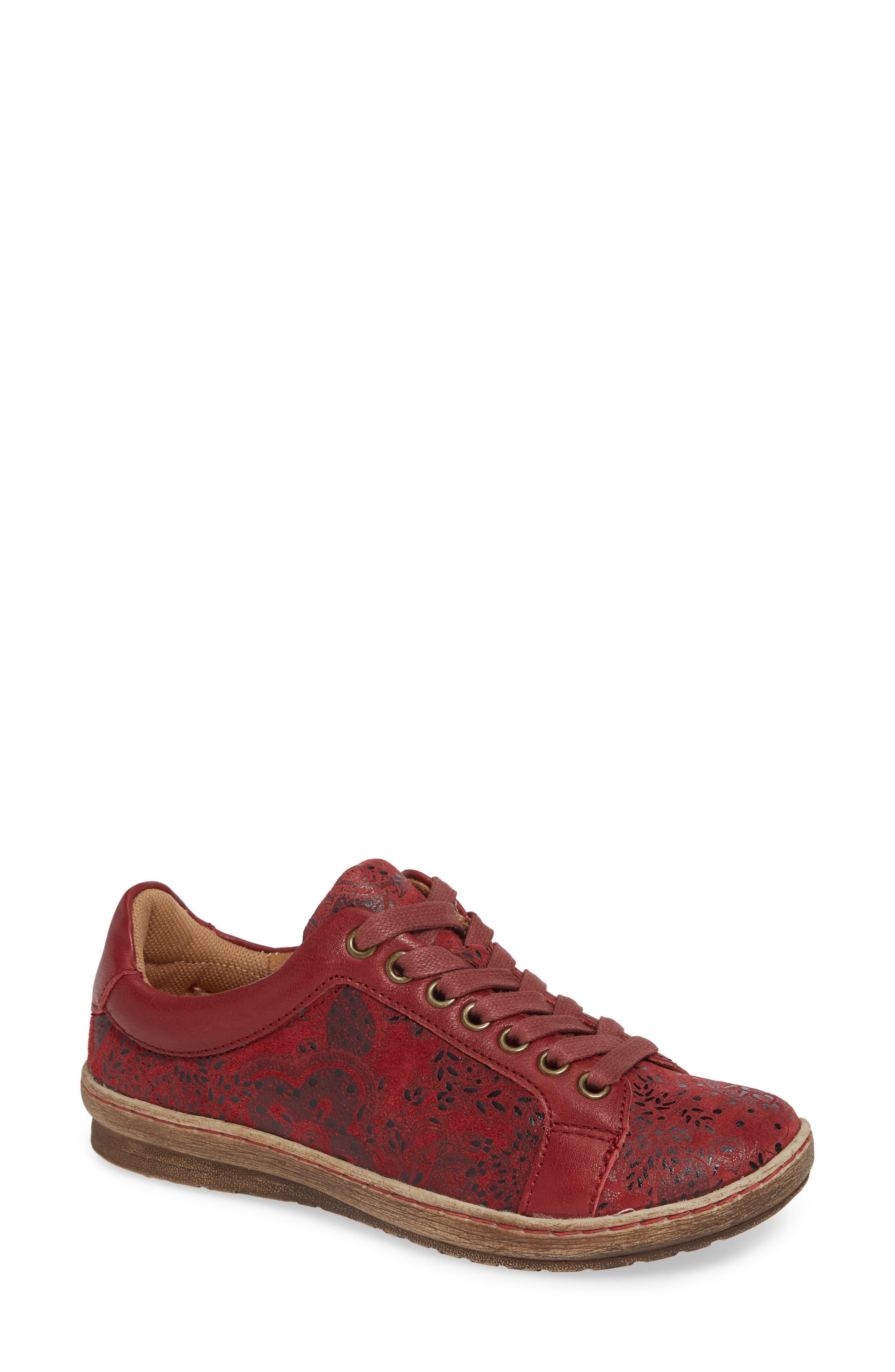 7dc90f745c05 Comfortiva Caledonia Sneaker W - Red