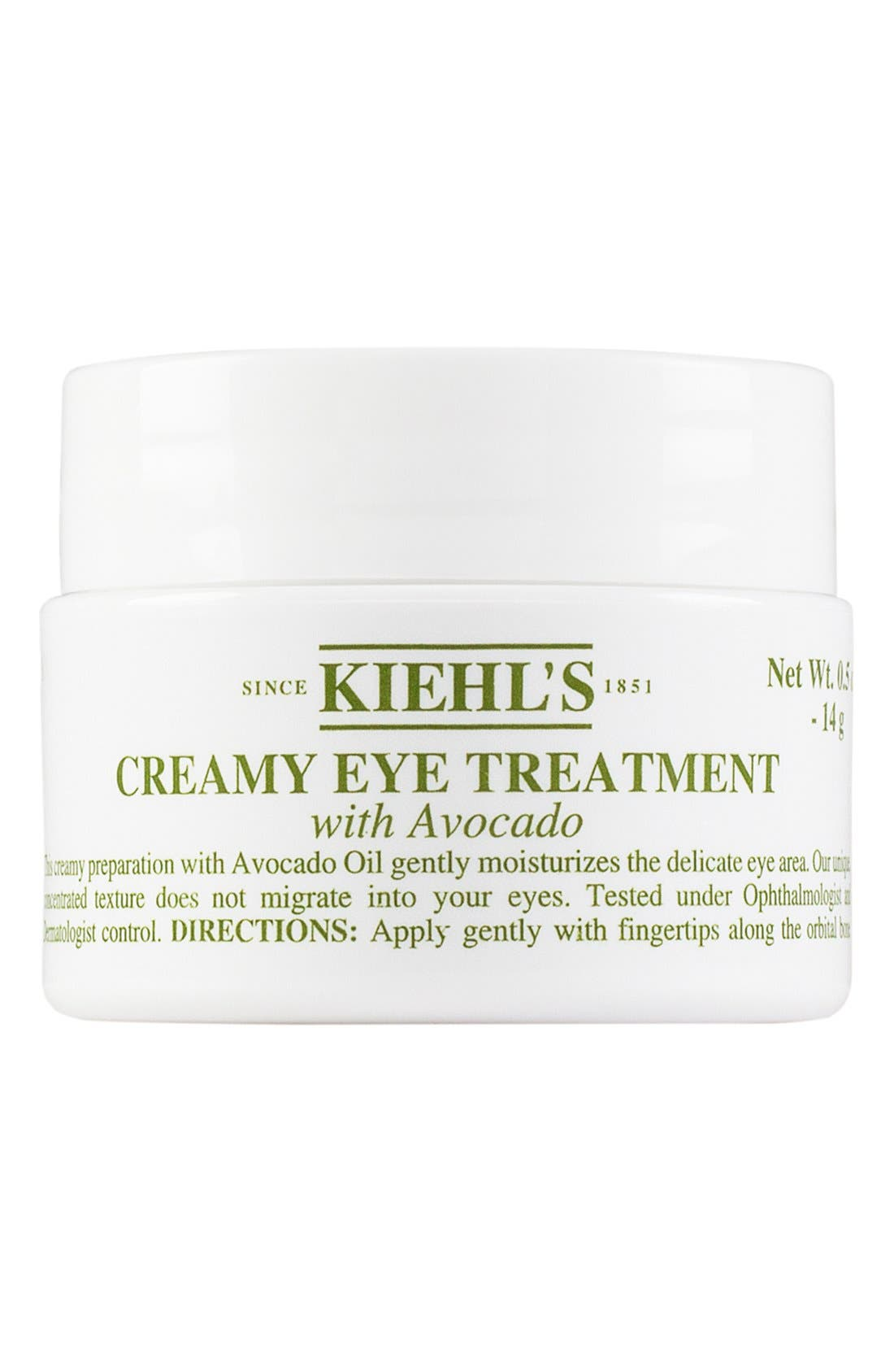 KIEHL'S SINCE 1851, Creamy Eye Treatment with Avocado, Main thumbnail 1, color, NO COLOR